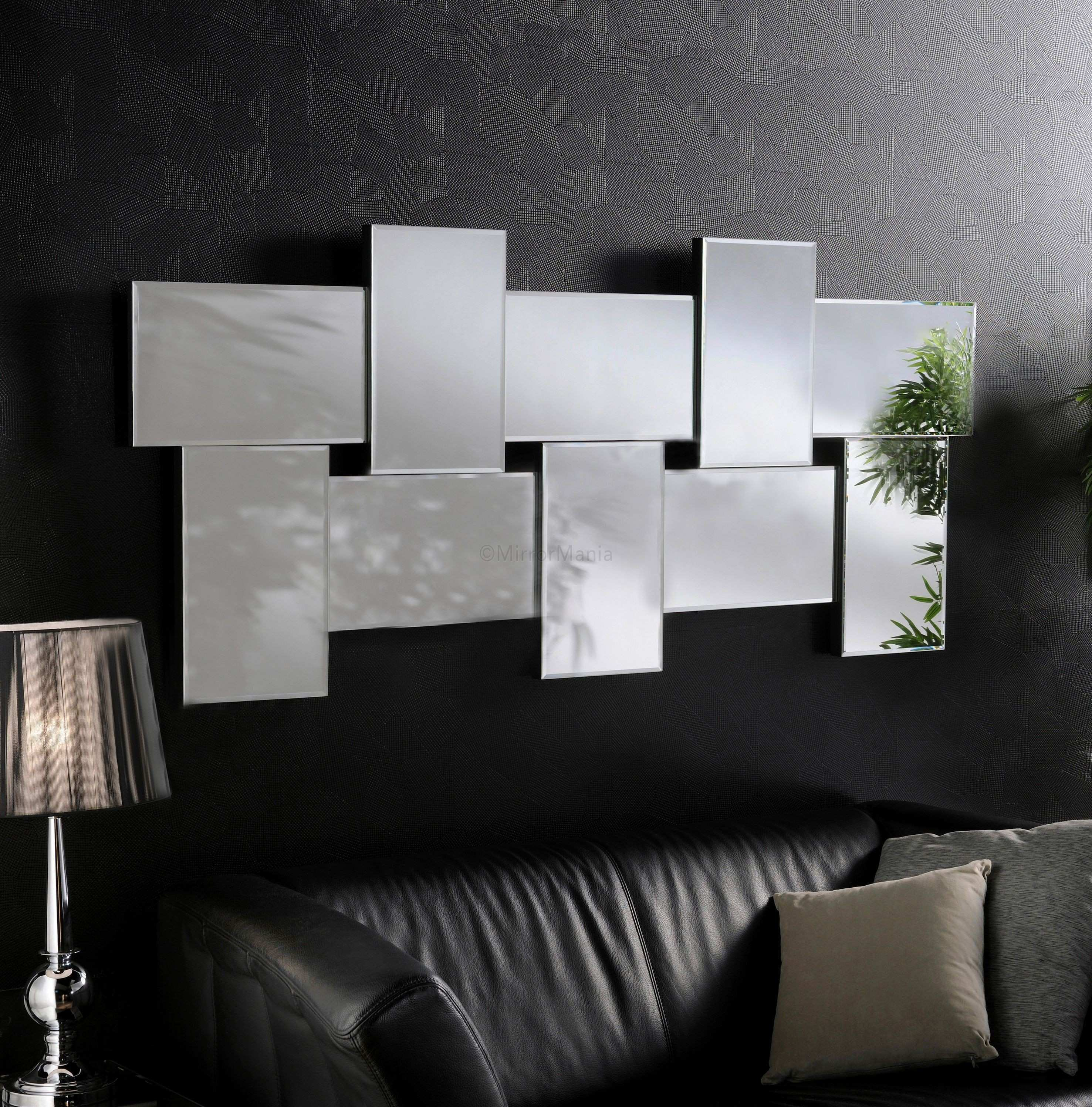 Ceres Modern Bevelled Wall Mirrors