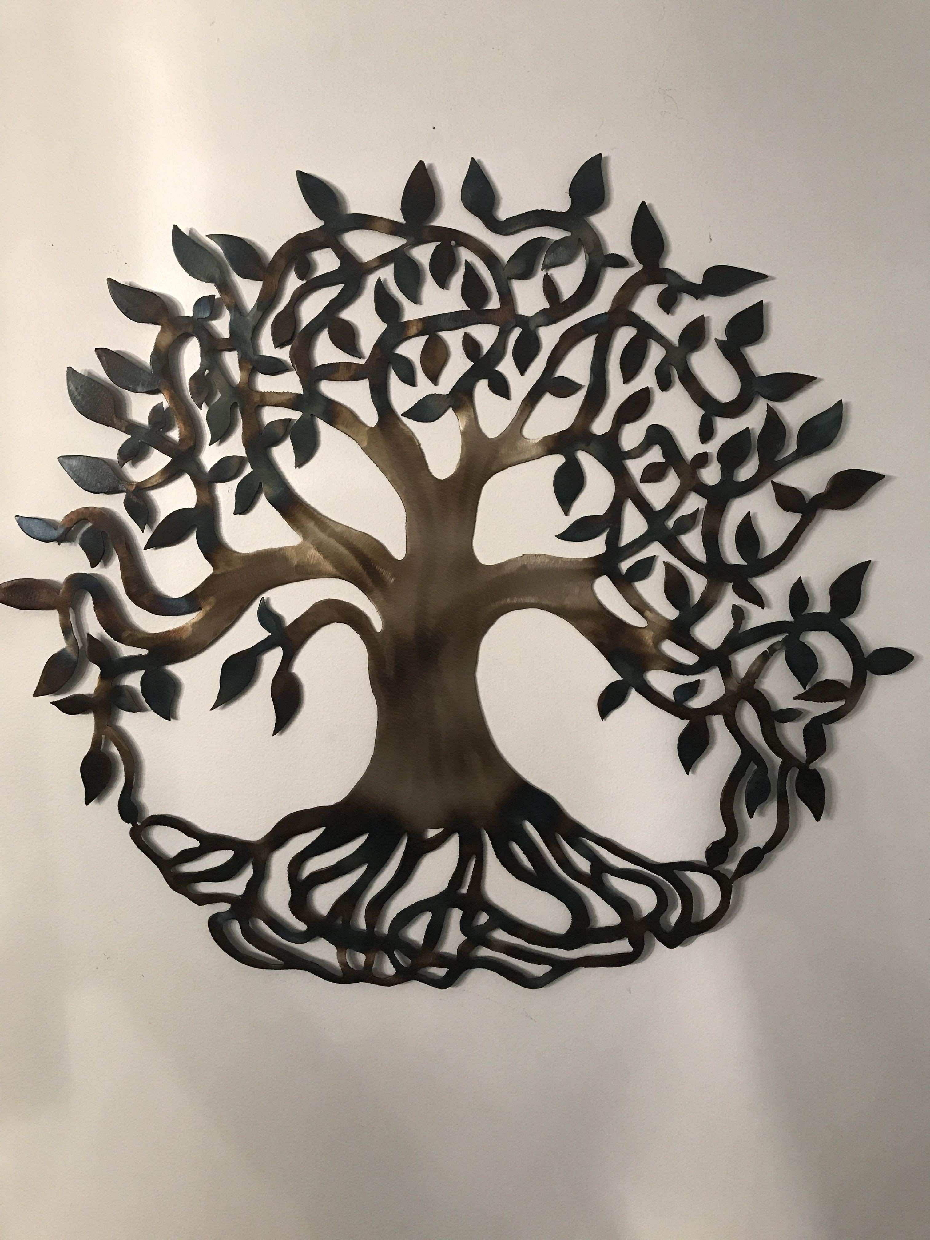 Metal art tree of life harmanmetalart