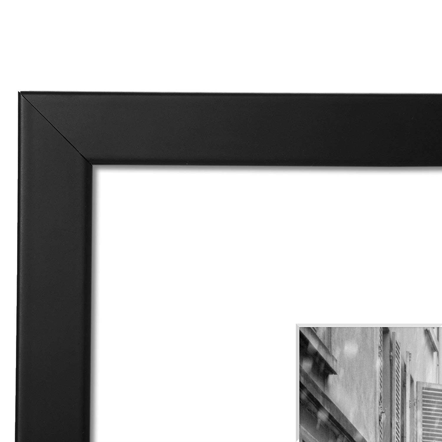 Amazon 11x14 Black Picture Frame Made to Display