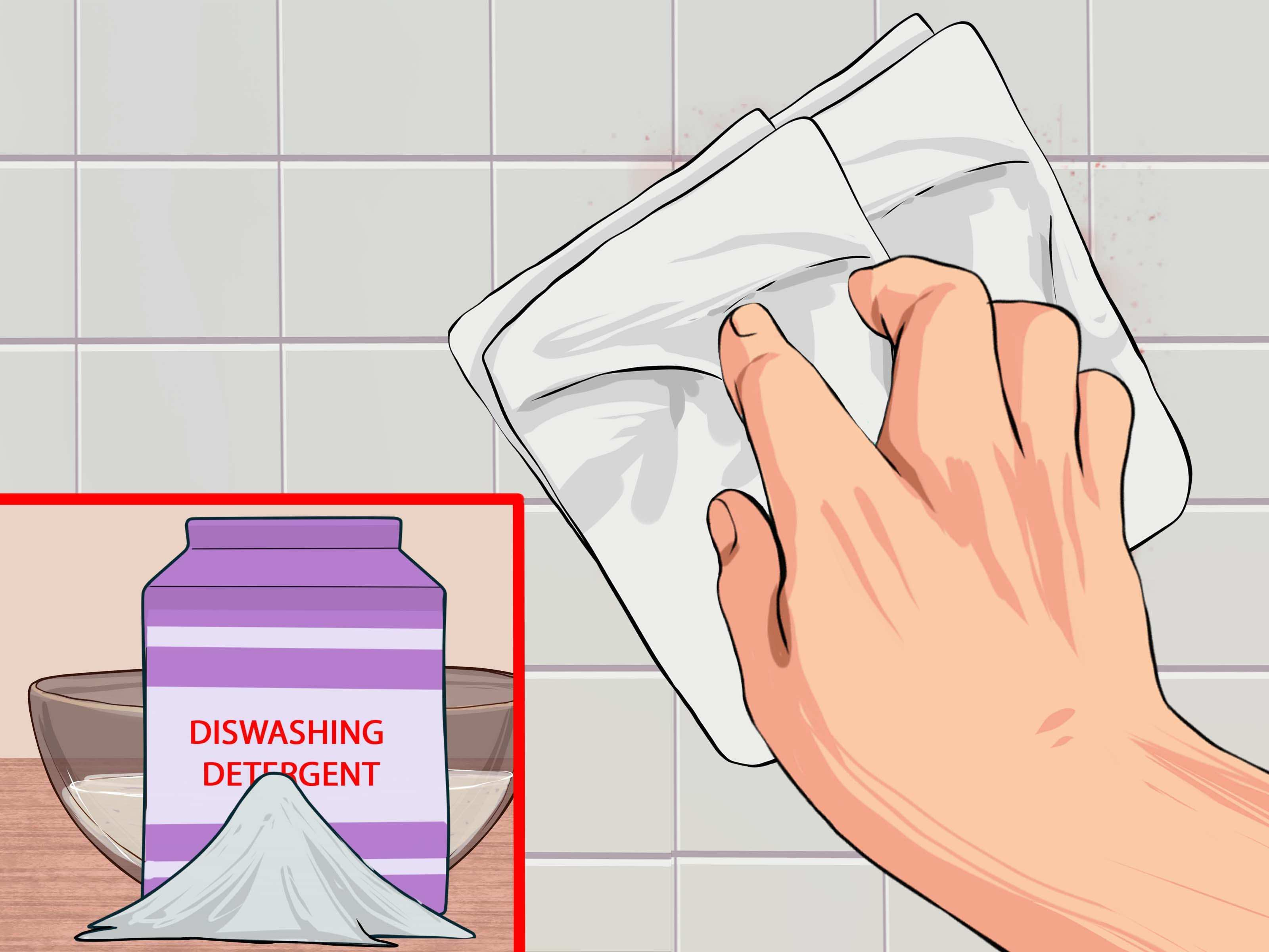 3 Ways to Clean Blood from Walls wikiHow