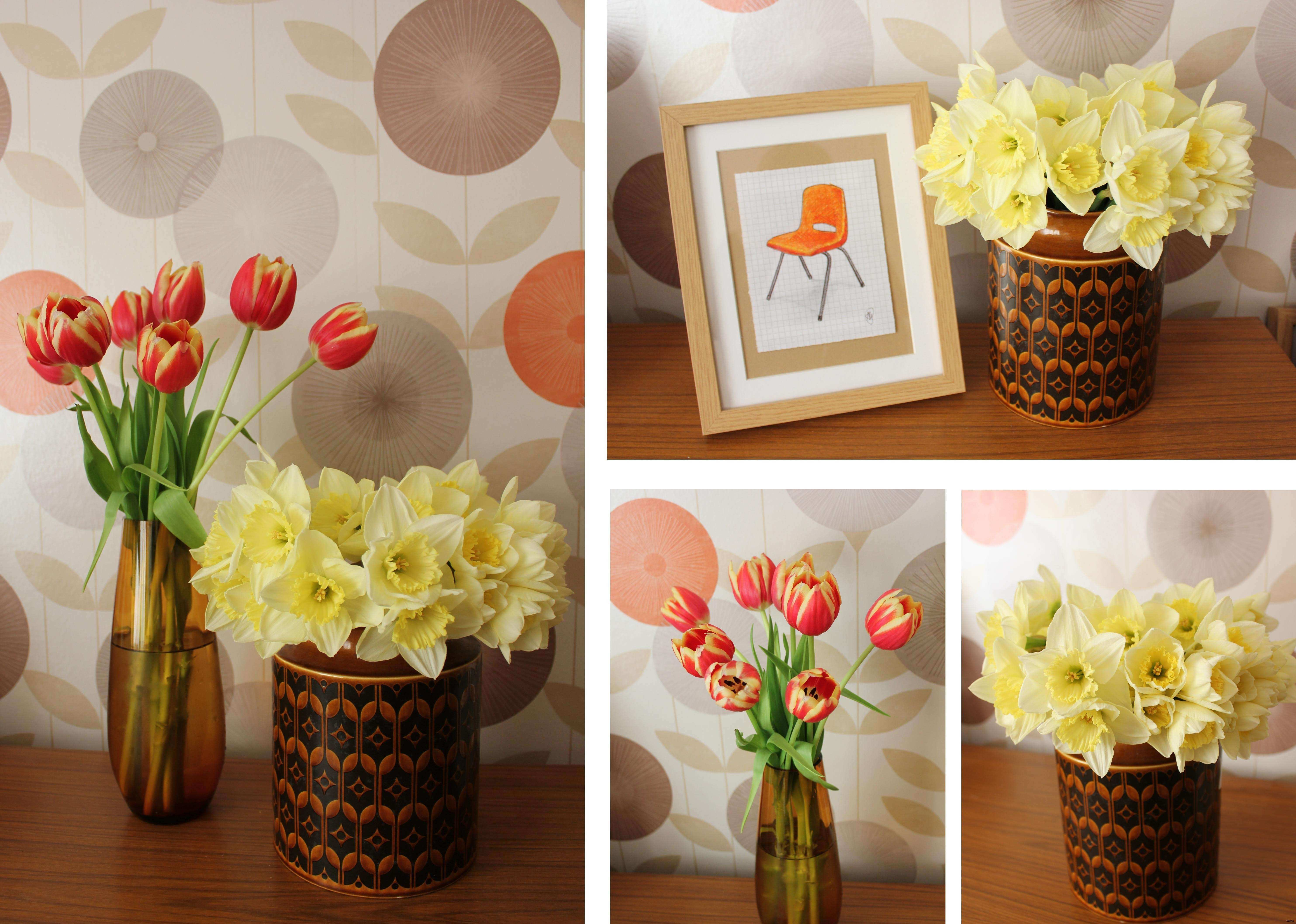 35 Lovely Wall Decor Flowers