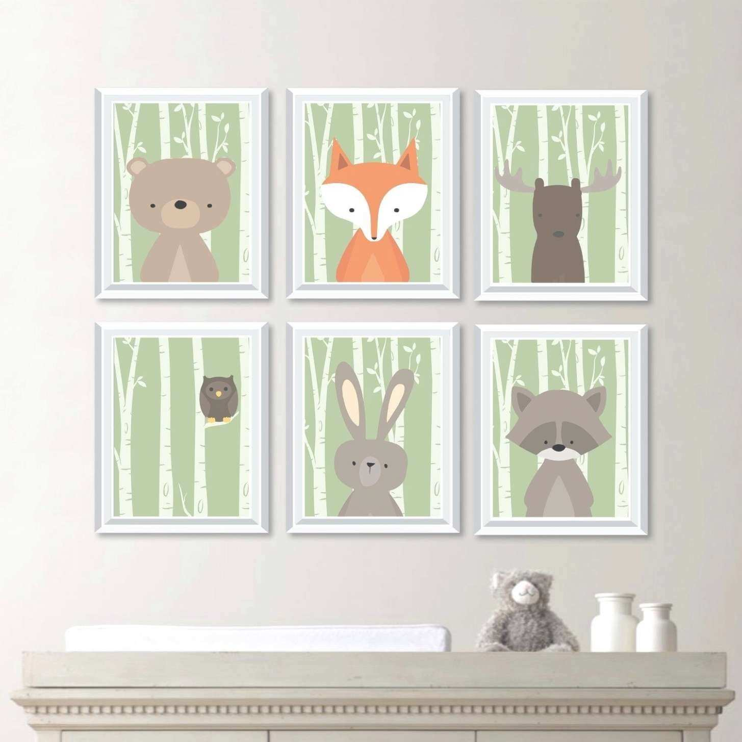 43 Best Collection of Woodland Nursery Wall Art