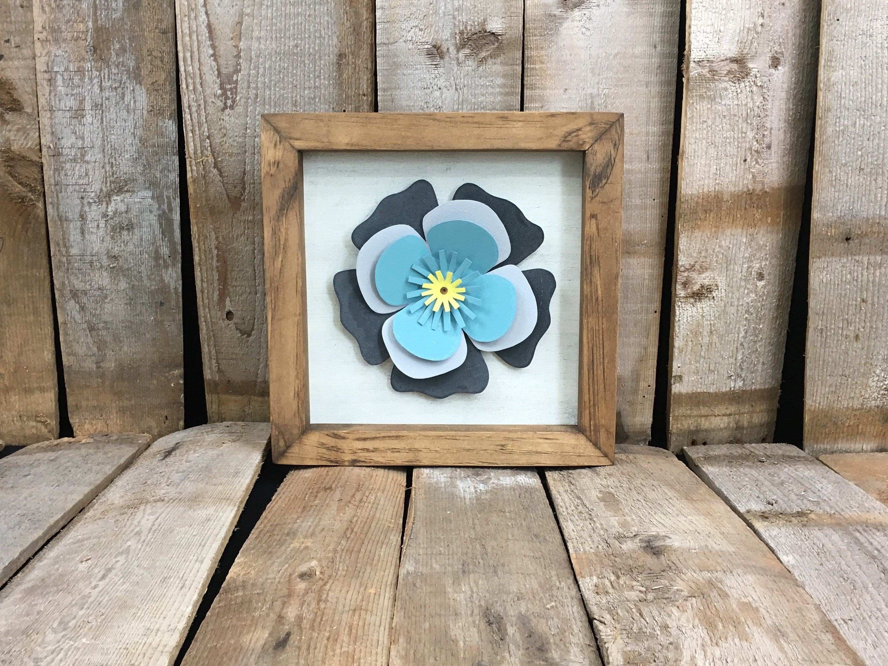 Excited to share the latest addition to my etsy shop Flower Wall