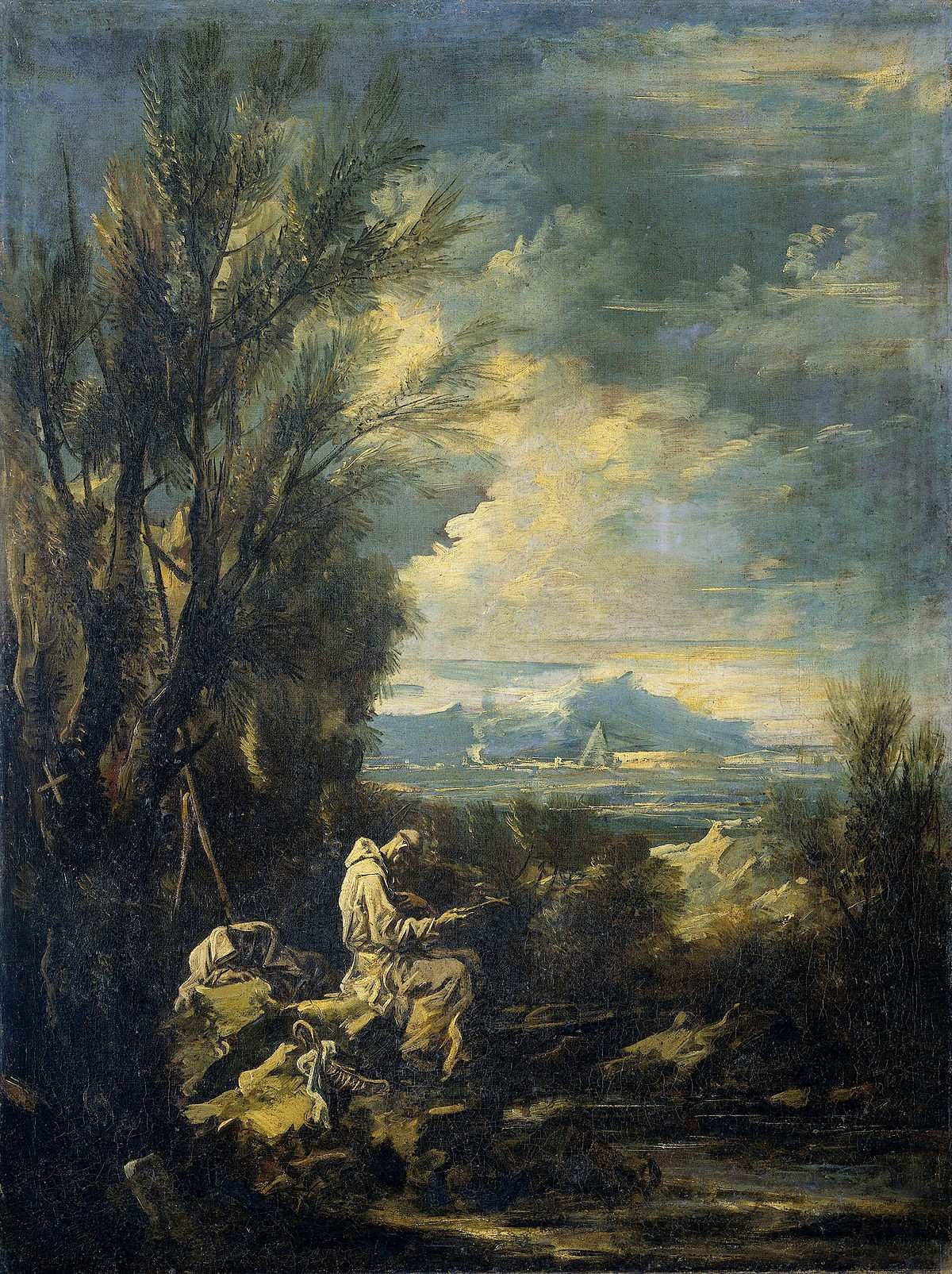 Landscape with Saint Bruno Wikidata