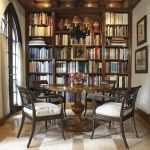 Large Dining Room Mirror Awesome 16 Chic Dining Rooms with Libraries Inspiration Dering Hall