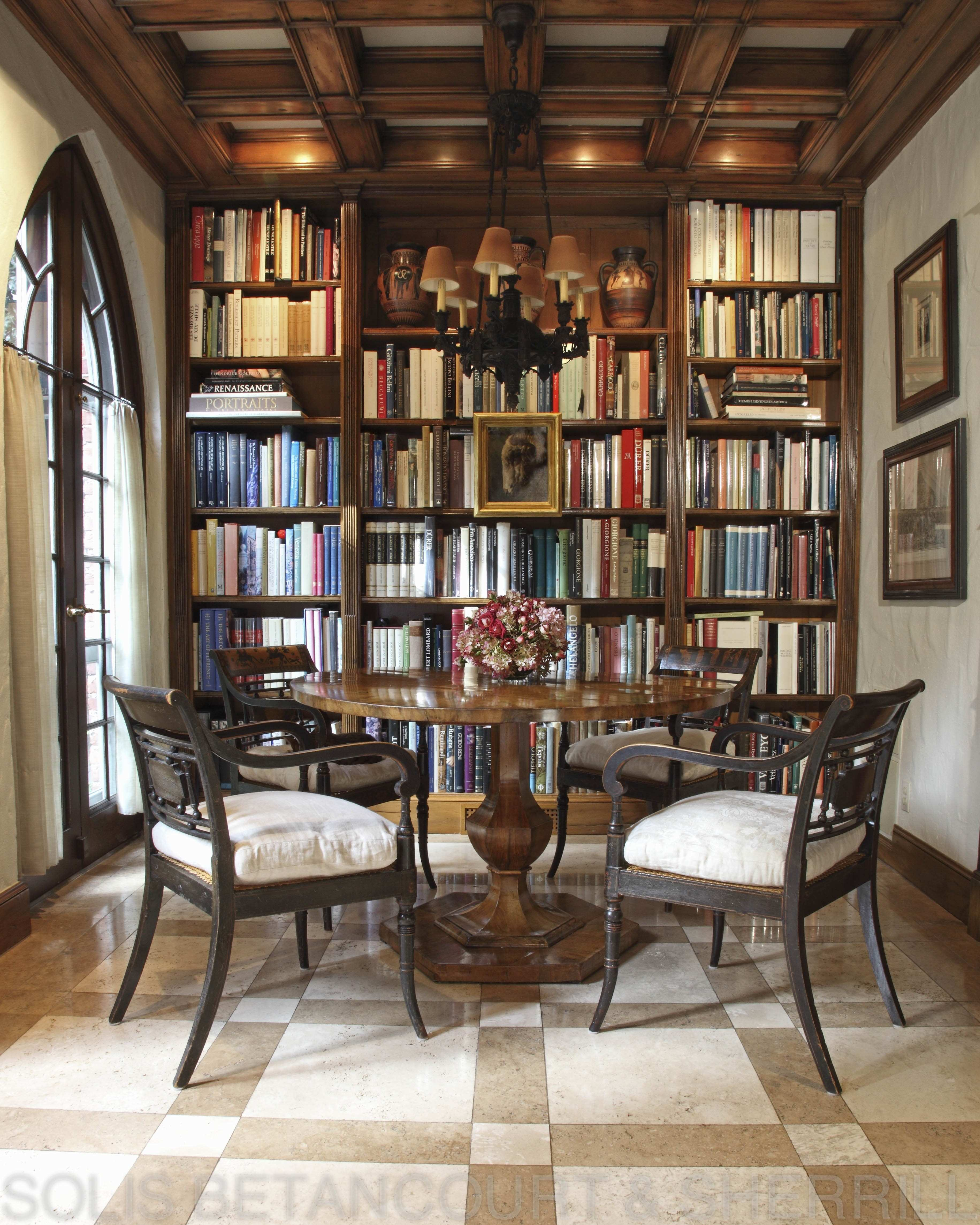 16 Chic Dining Rooms with Libraries Inspiration Dering Hall