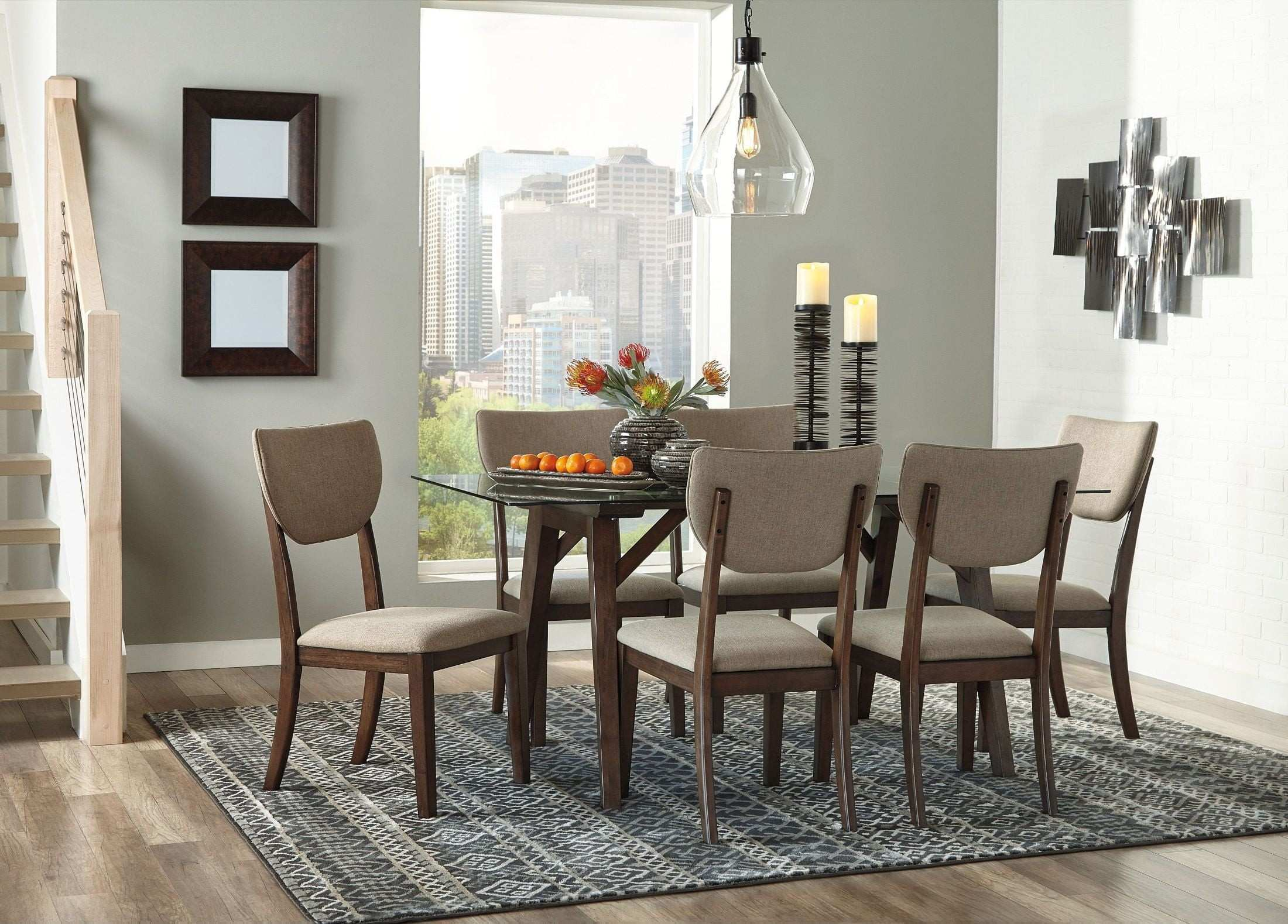 Joshton Brown Rectangular Dining Room Set from Ashley
