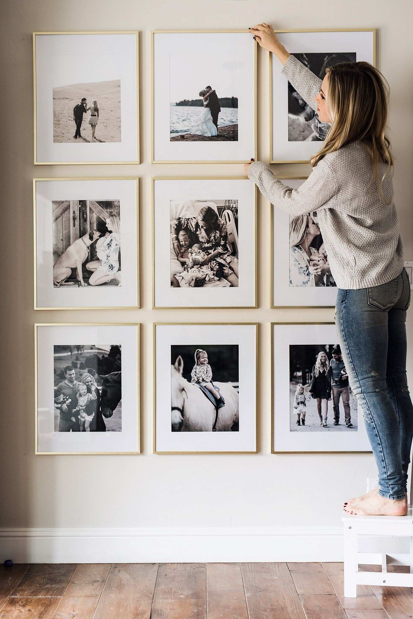 Picture Frame Wall Pinterest