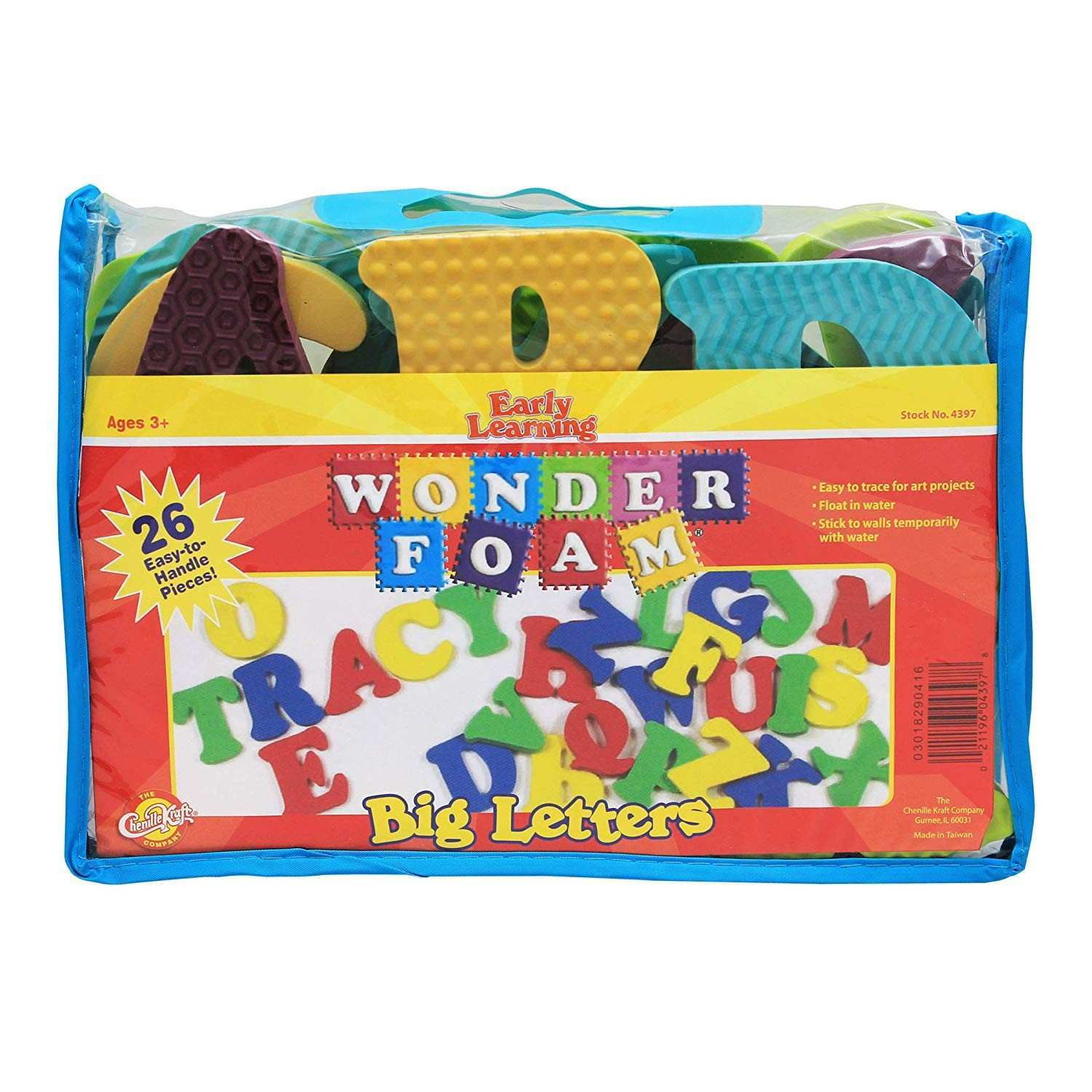 Amazon WonderFoam Big Letters Toys & Games