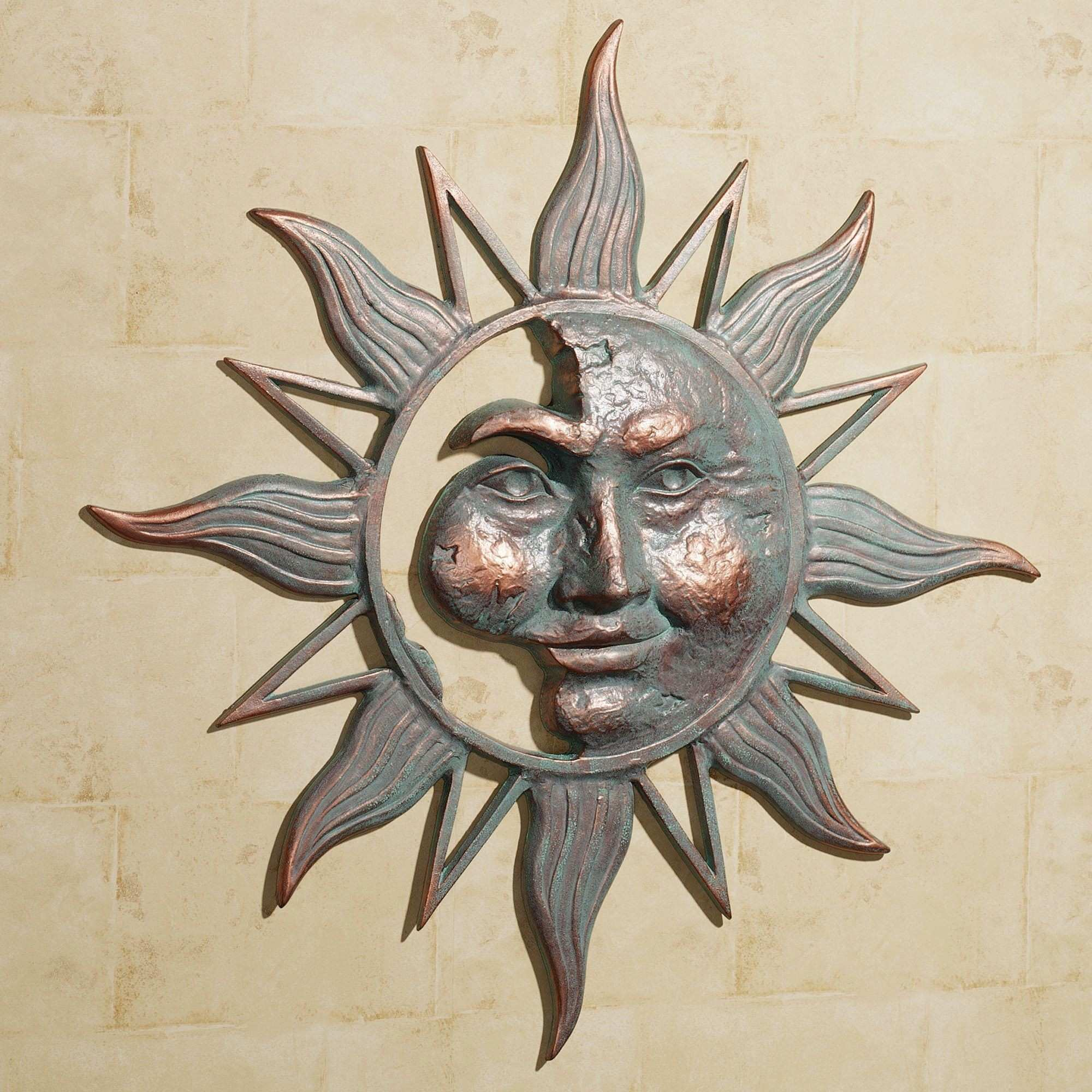 Amazing Metal Sun Wall Art Home Design For Outdoors Outside