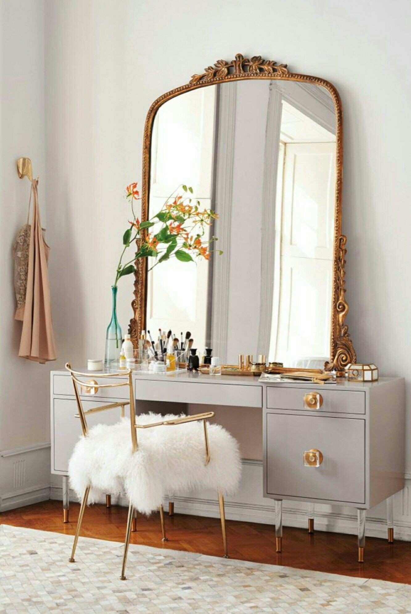 Modern French Home Decor Fresh Vanity French Mirror Furry