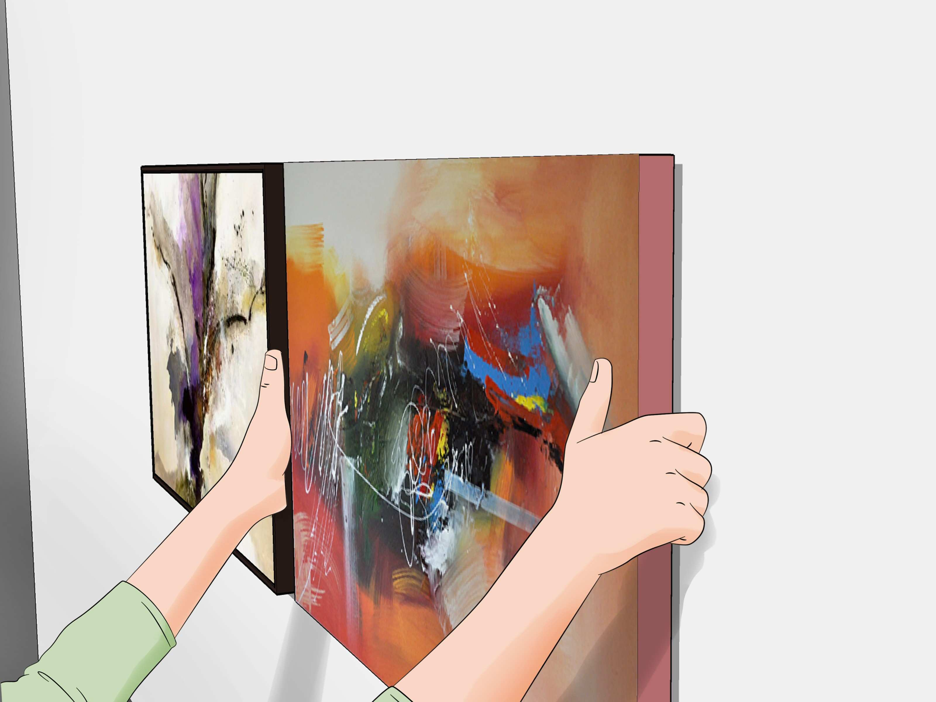 How to Arrange Artwork on a Wall with wikiHow