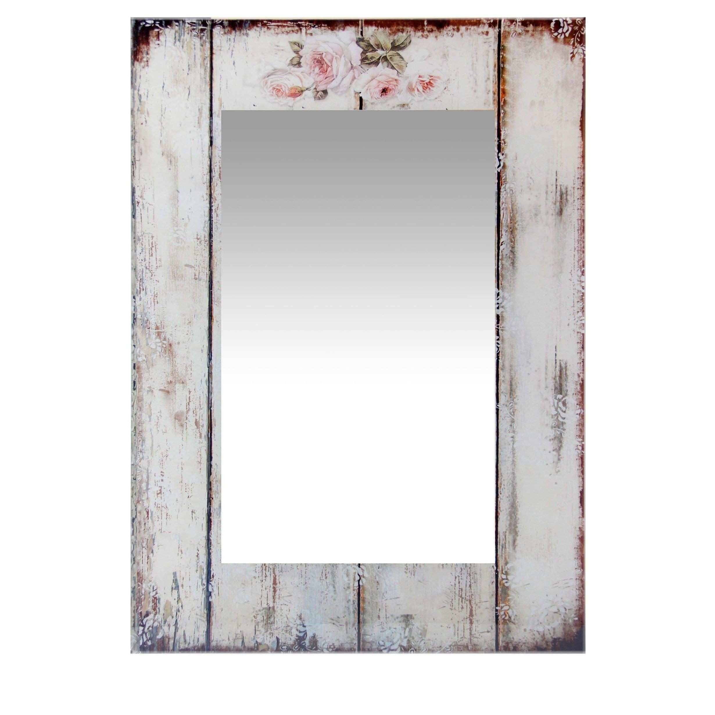 27 5 Inch Wall Mirror Shabby Chic by Infinity Instruments