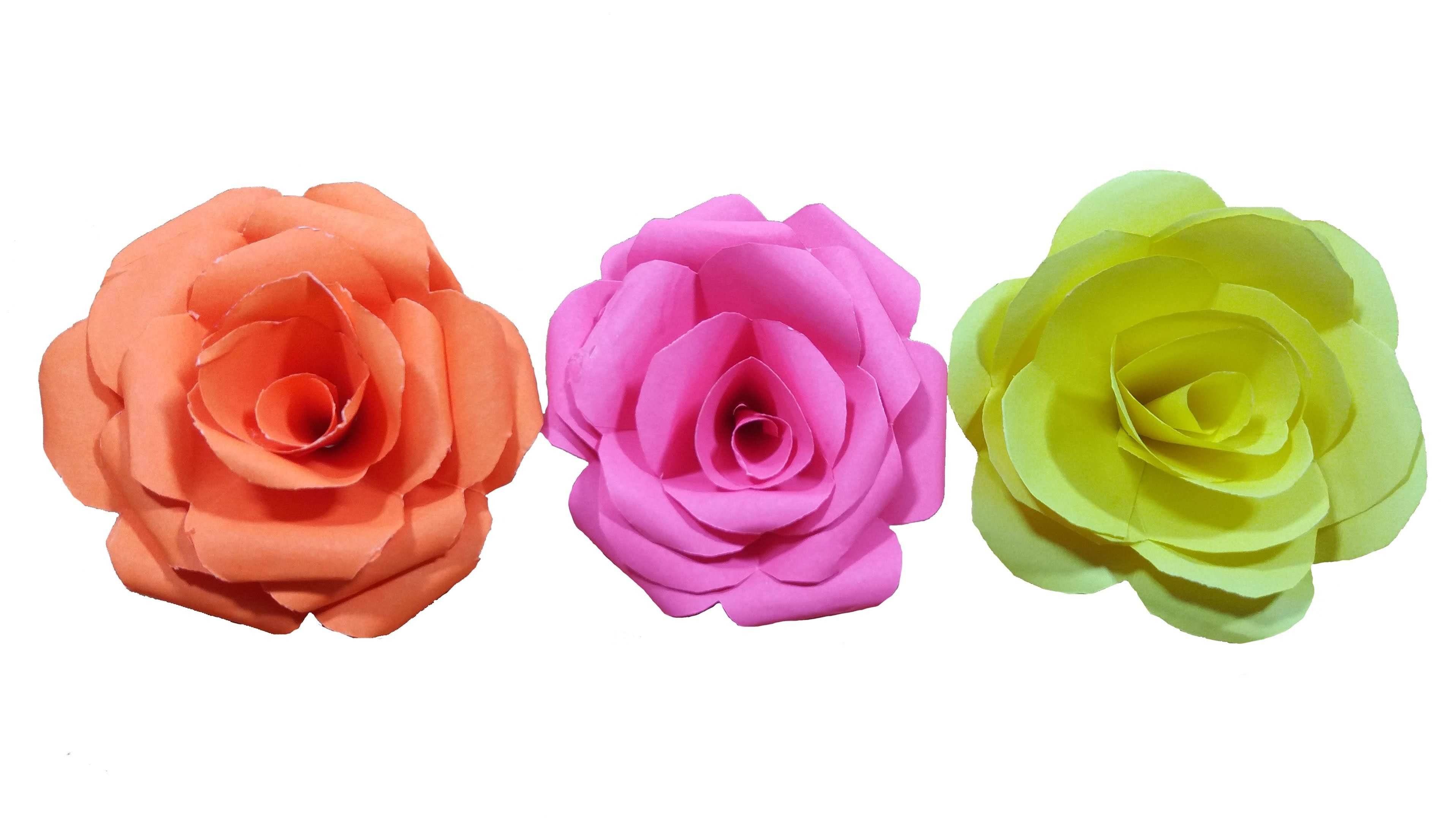 Large Paper Flowers Wall Decor Fresh How To Make Paper Rose Flower