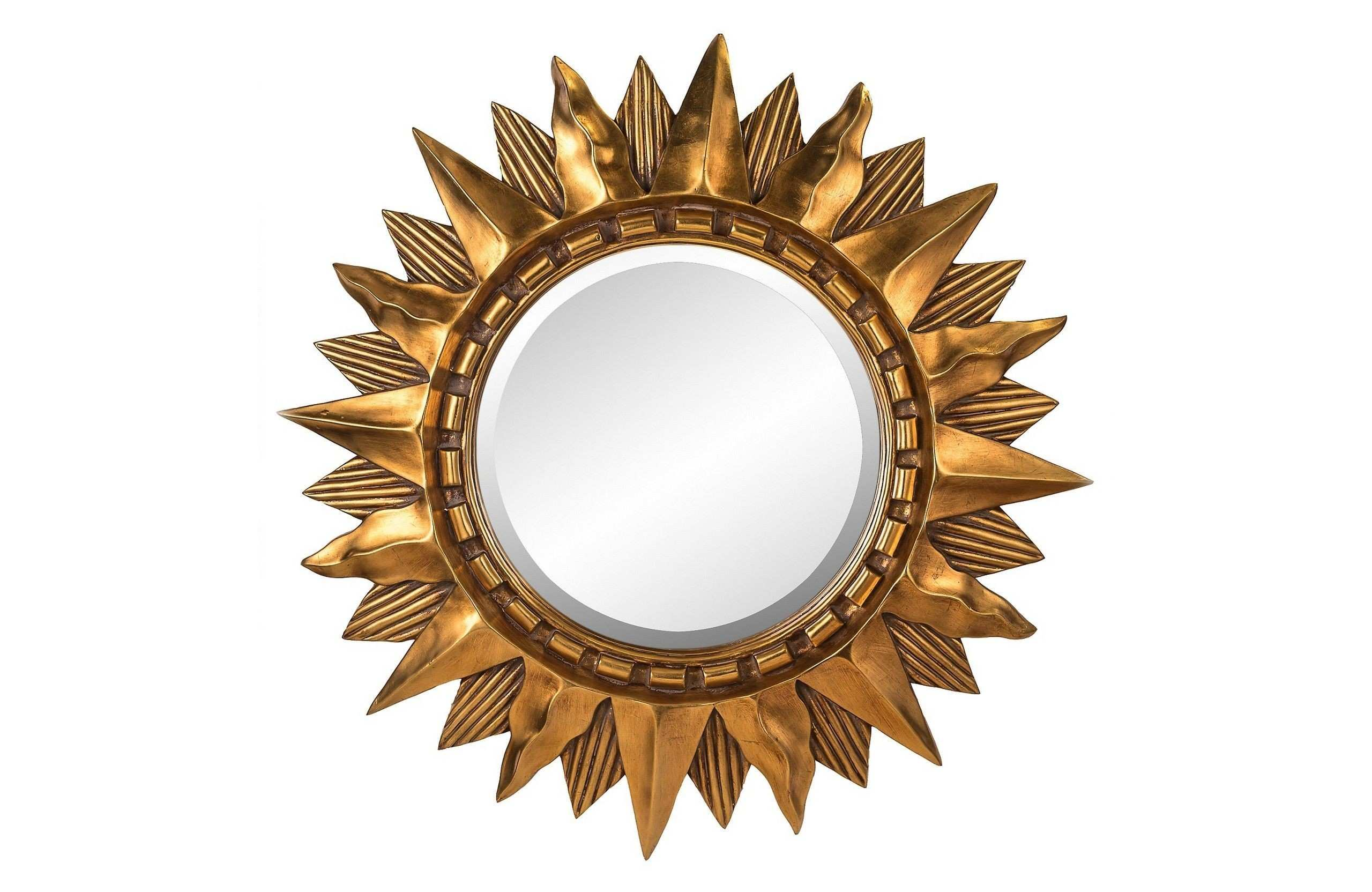 Circle Mirror Luxury Pin by Gina Huang Spaces Pinterest