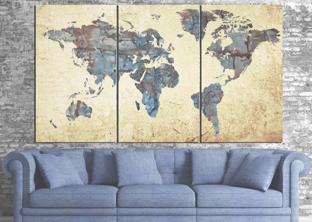 Large Round Wall Decor Awesome 45 Best Of Art World Map