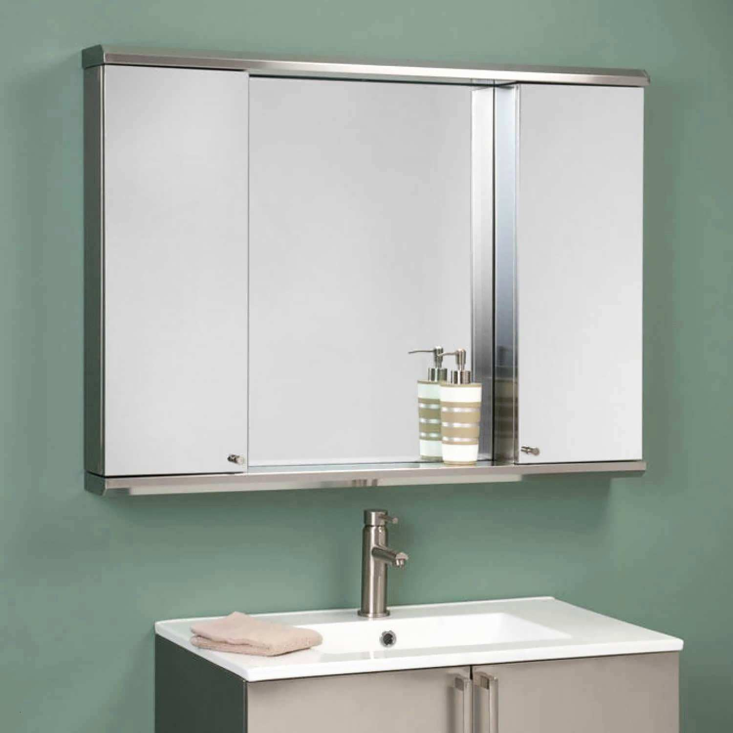 Bathroom Mirror With Light Mirror Ideas