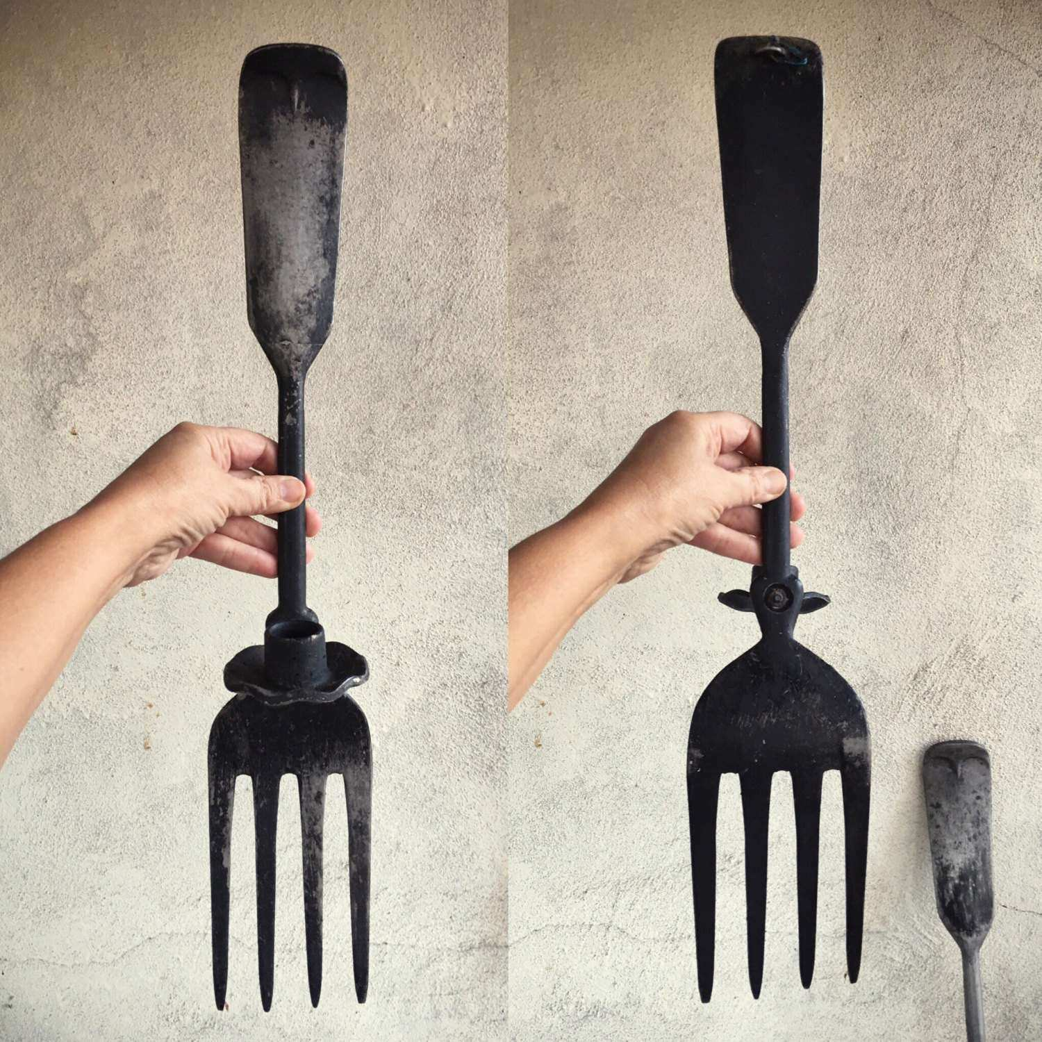 Classy 40 Giant Spoon and fork Wall Decor Decorating Design Best