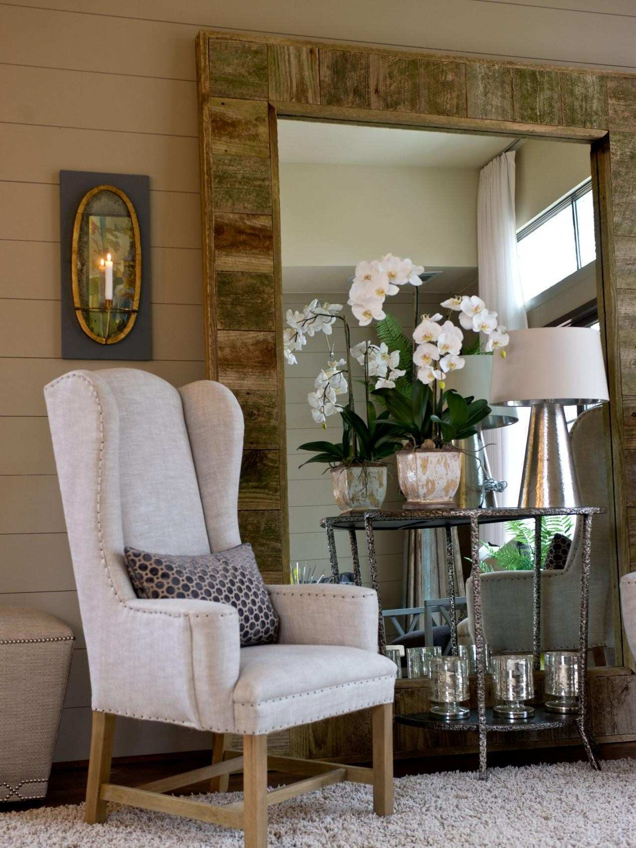 Decorating With Mirrors Living Room
