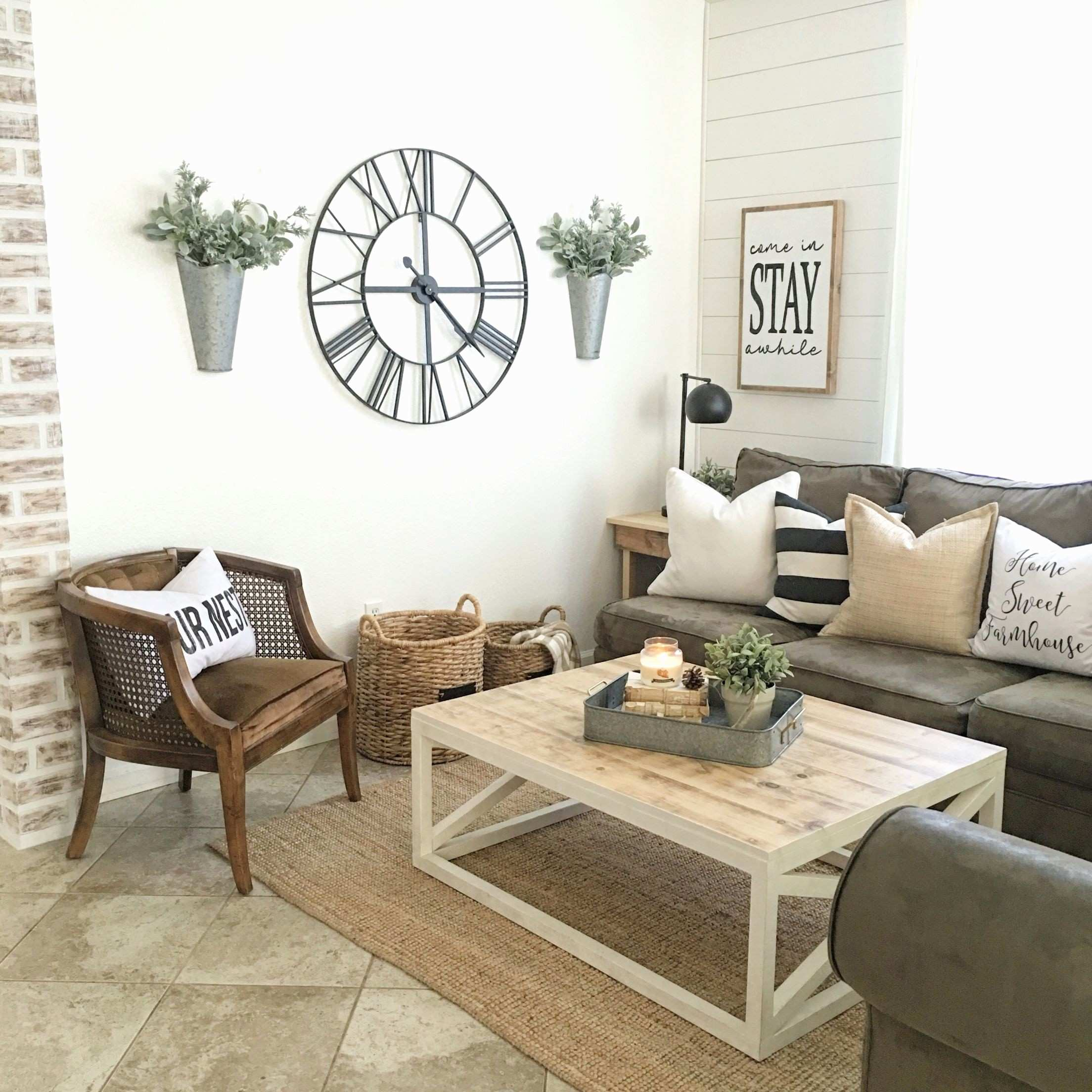Wall Decorating Ideas for Living Room New Modern Farmhouse