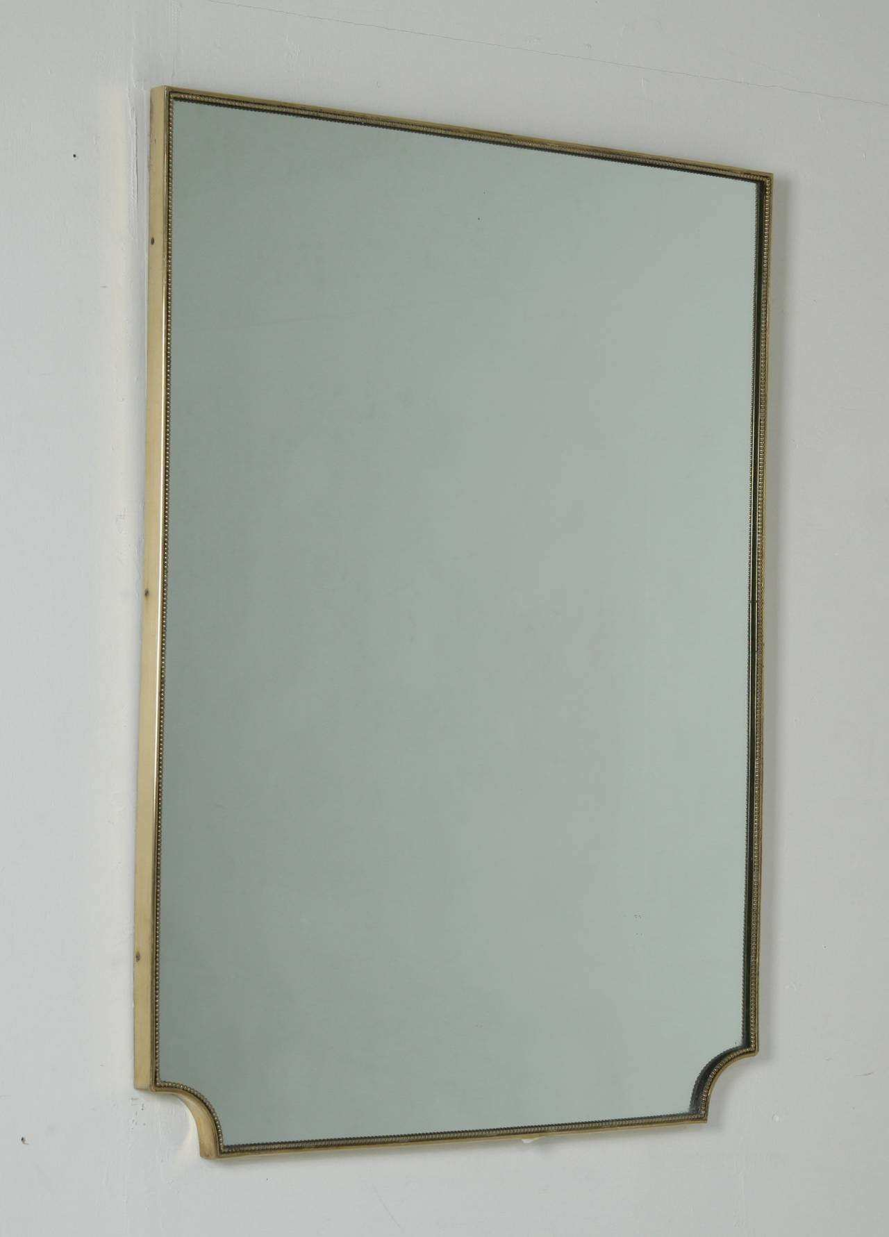 Small Framed Mirrors Popular Altan Wooden Mirror In Dark White Wood