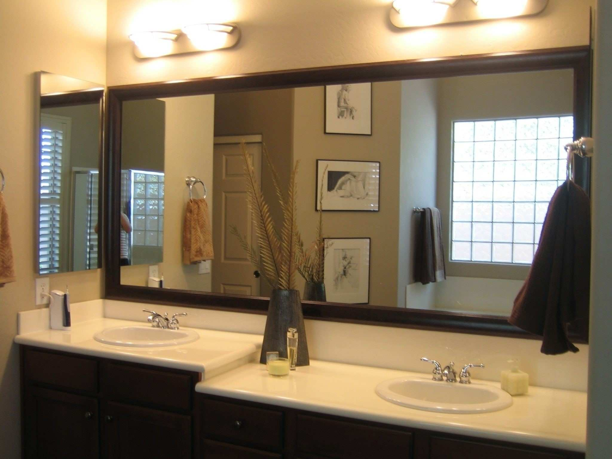 Bathroom Bathroom Mirrors Bath The Home Depot Surprisingity Mirror
