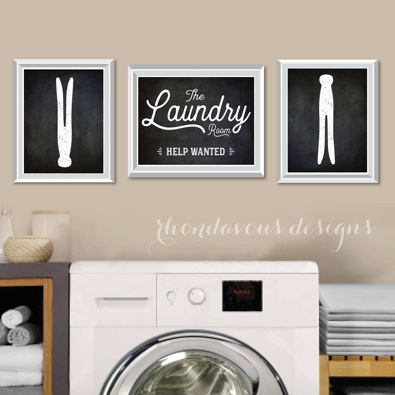 Cheery Laundry Room Decor Laundryroom Decor To Upscale In Designs