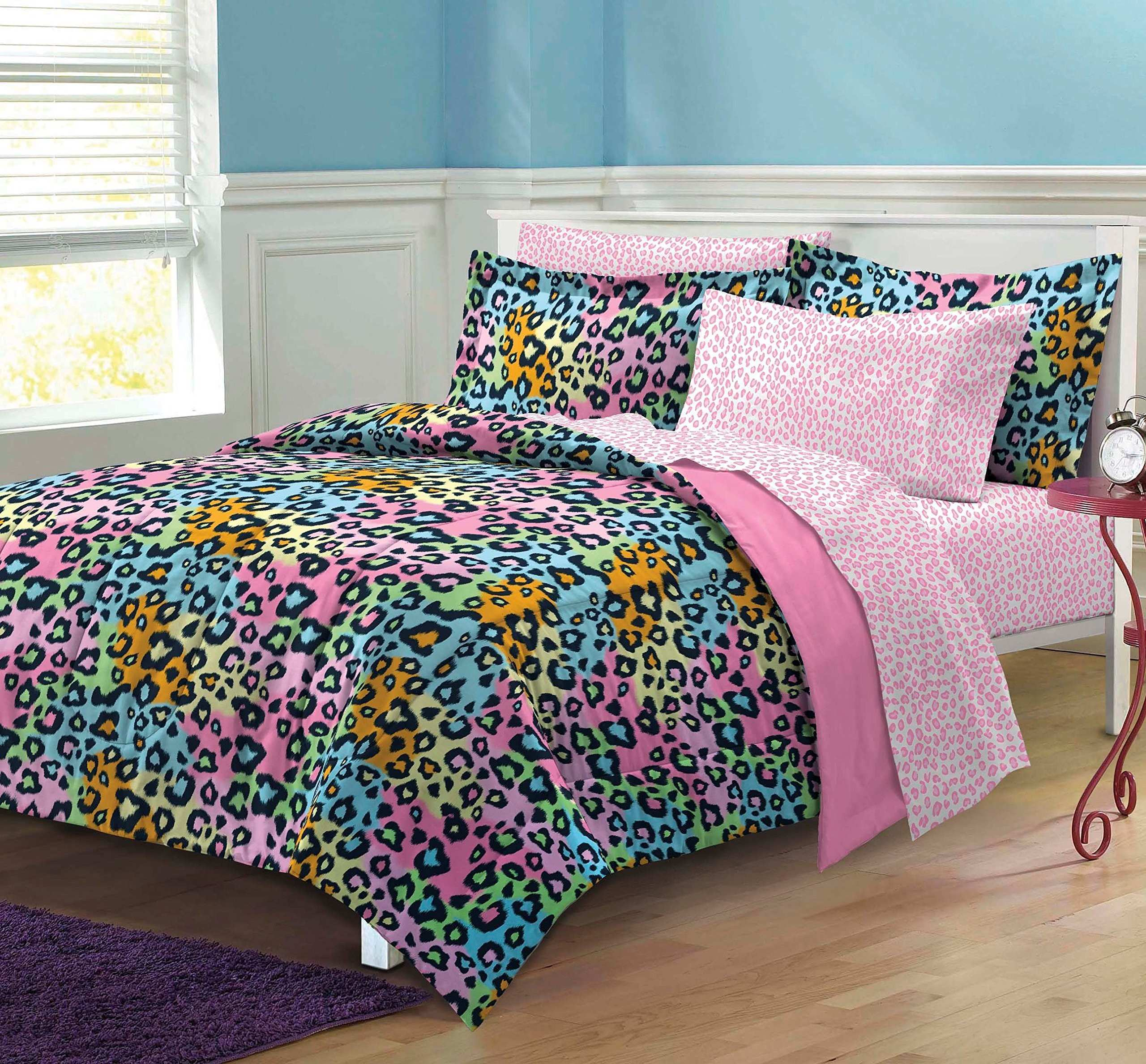Amazon Multicolored Leopard Print Heart Wall Decals 29 Heart