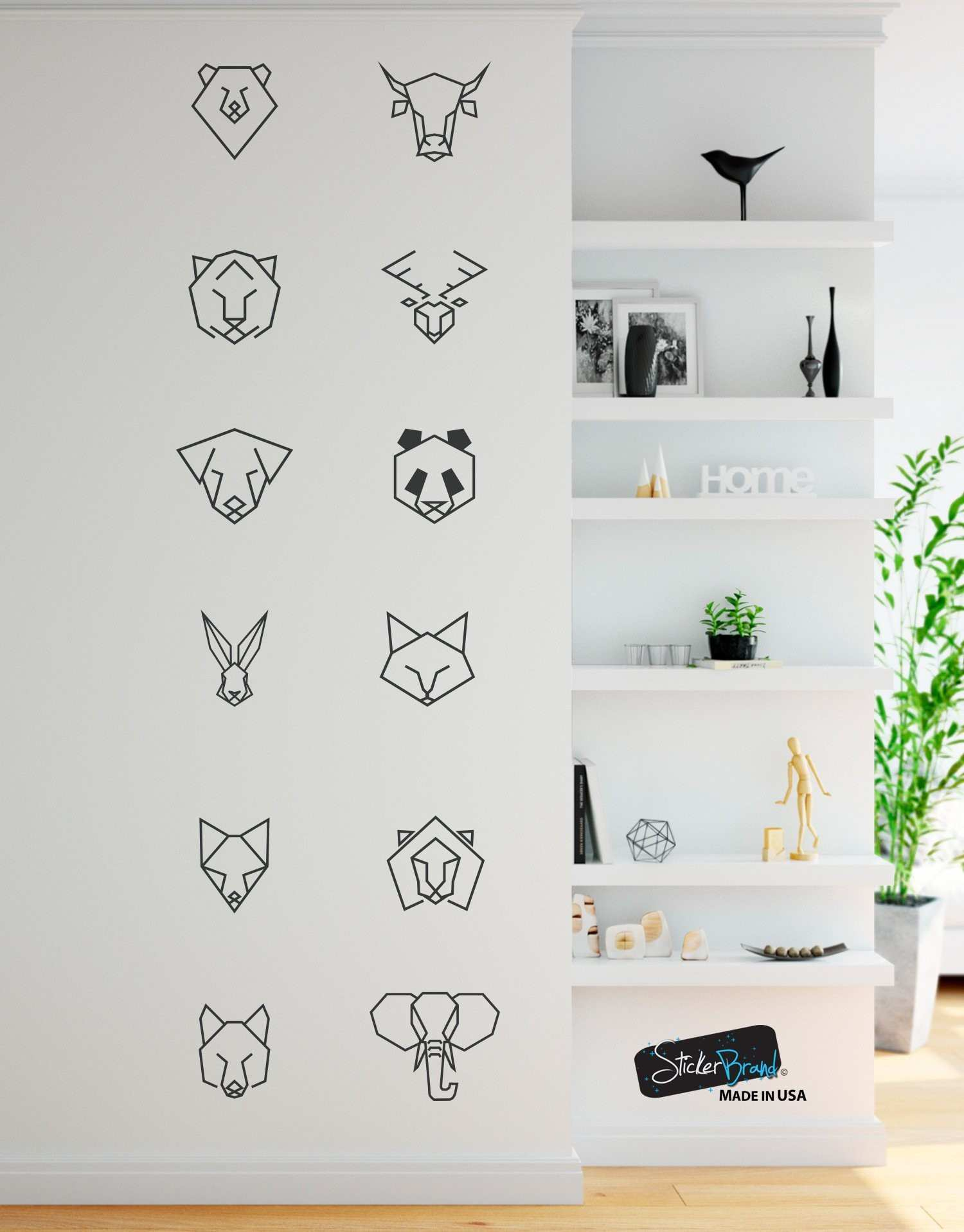 All Scheme Leopard Print Wall Decals