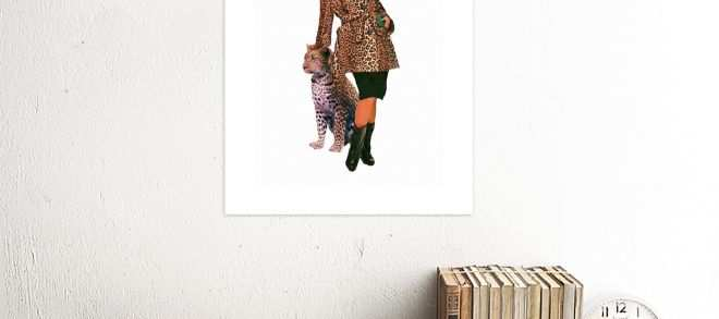 Leopard Print Wall Art Fresh Leopard Print Face Woman Framed Print Wall Art F12x Unframed