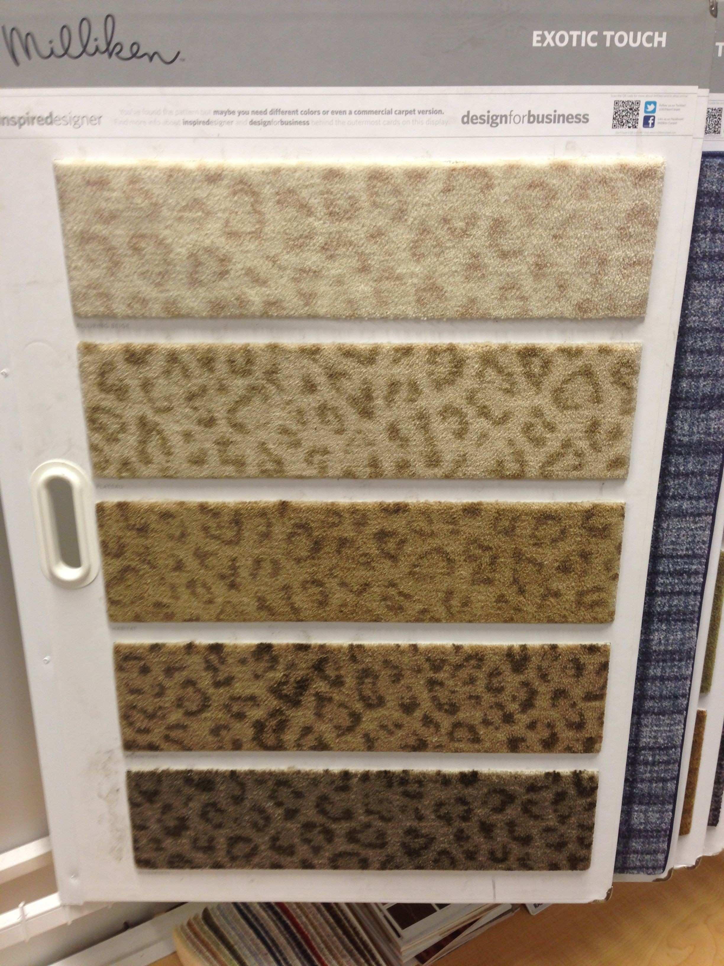 Leopard carpet samples g hahah I didn t even know this existed