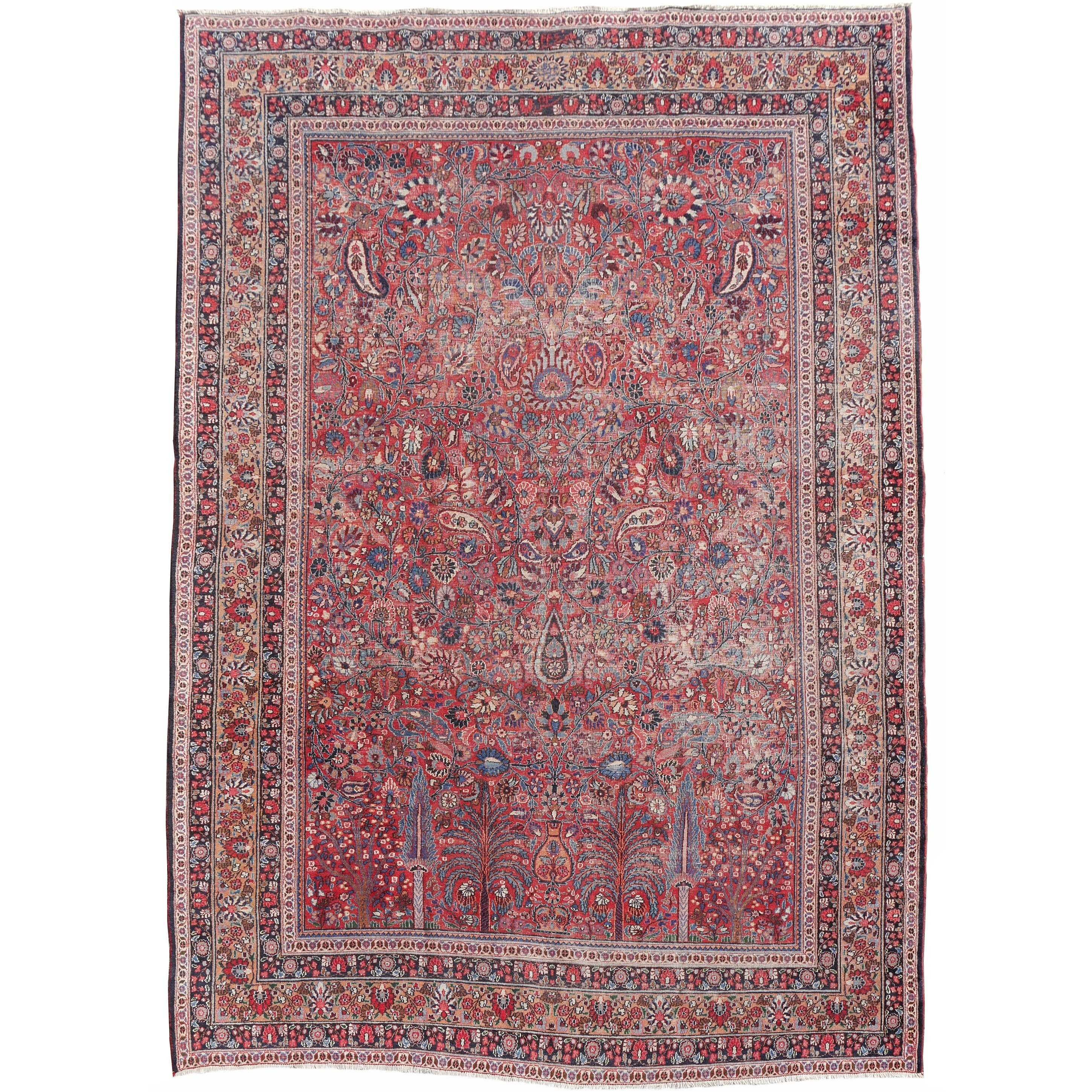 Leopard Print Wall to Wall Carpet Fresh Garden Of Paradise Antique Persian Carpet at 1stdibs