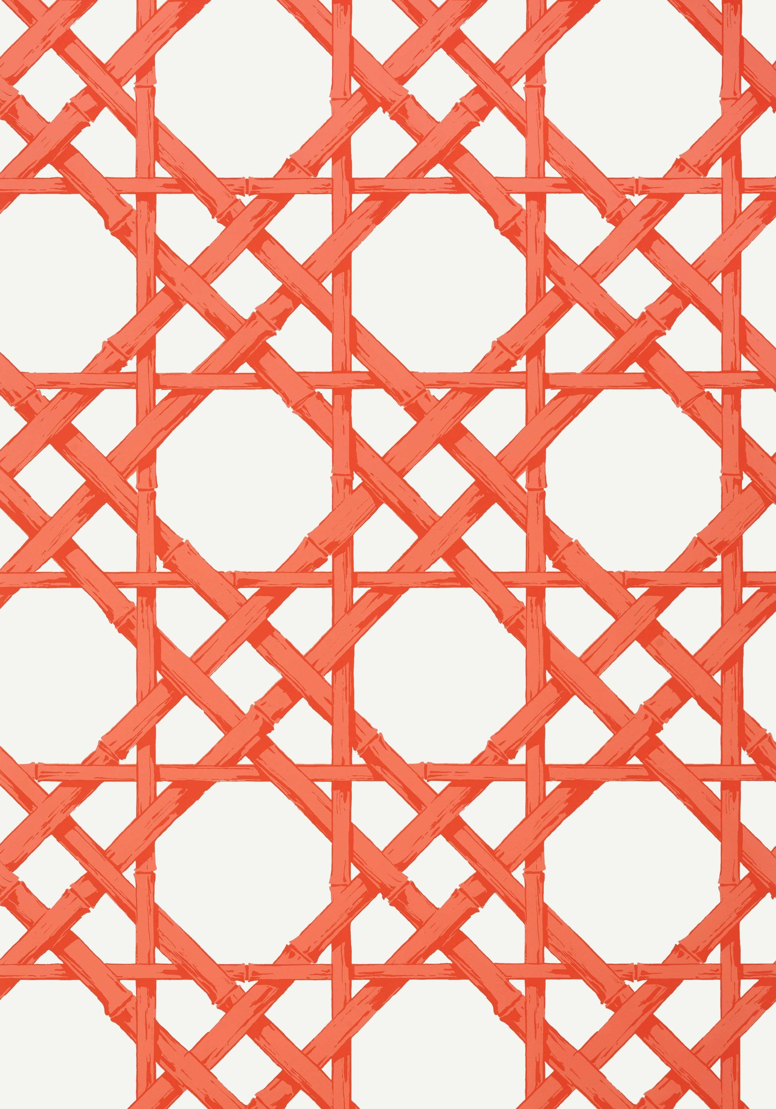 CYRUS CANE Coral T Collection Summer House from Thibaut