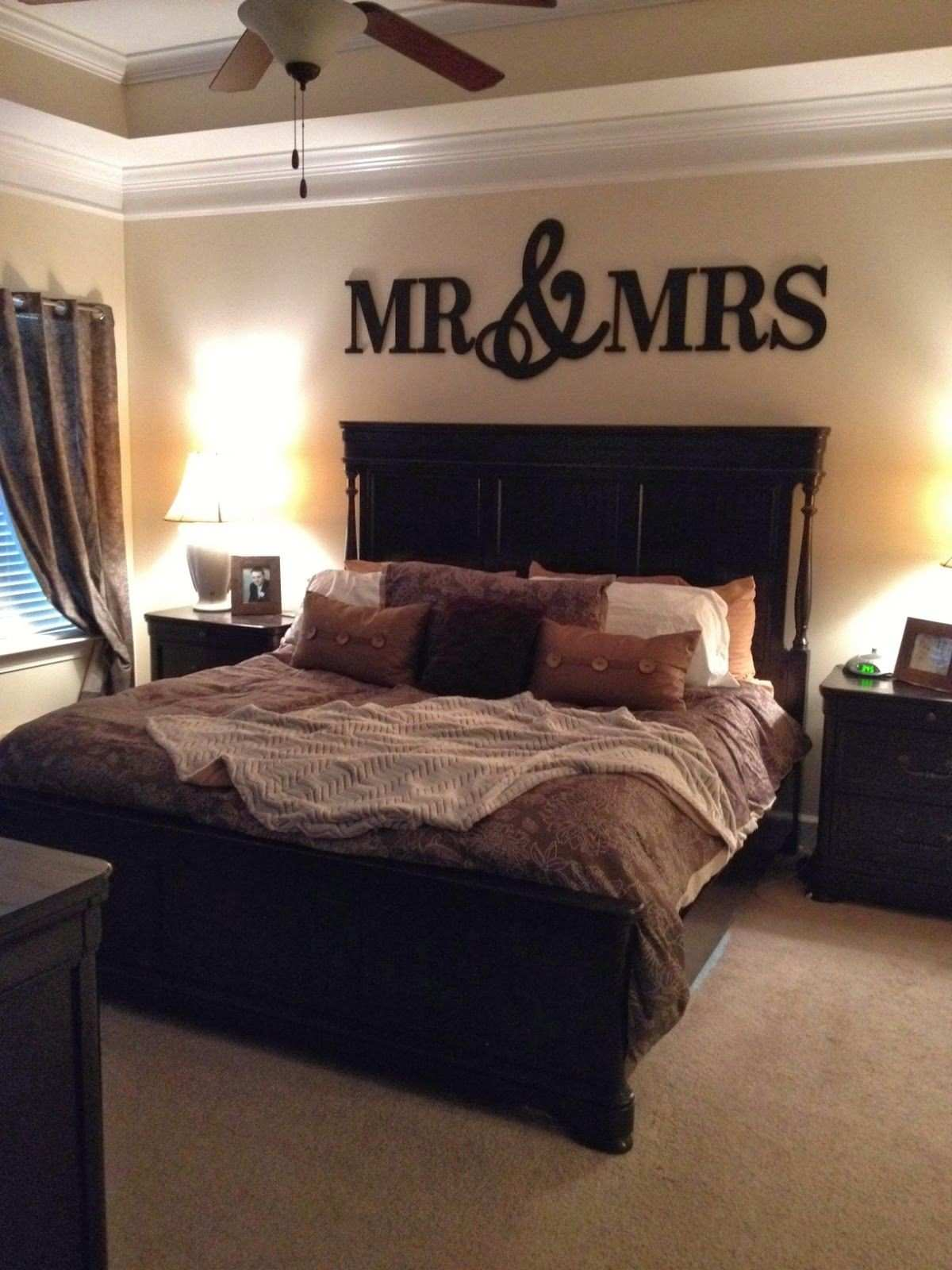 MR & MRS Wood Letters Wall Décor Painted Wood Letters Wall Letters