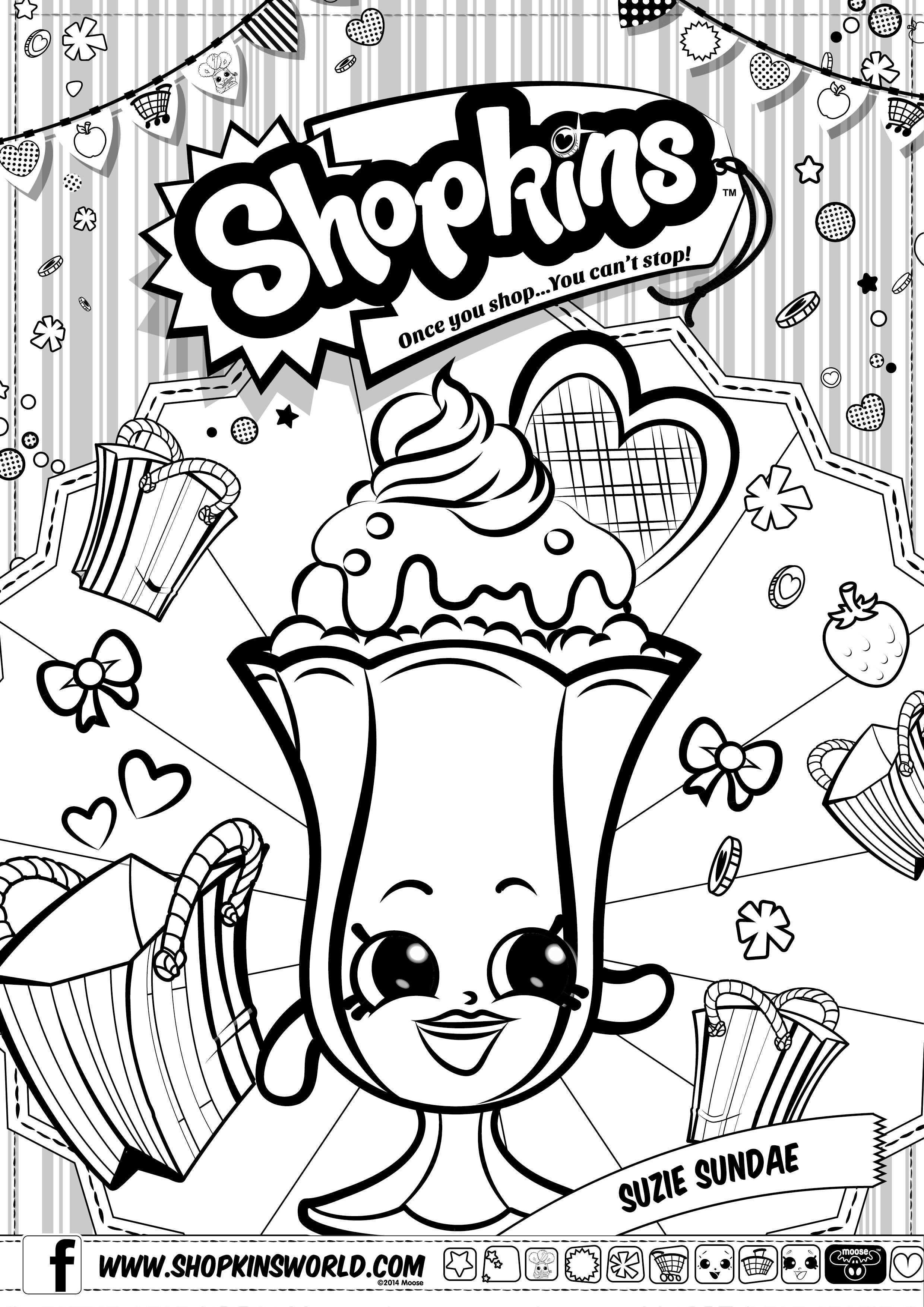 Beautiful Shopkins Coloring Pages Limited Edition Coloring Pages