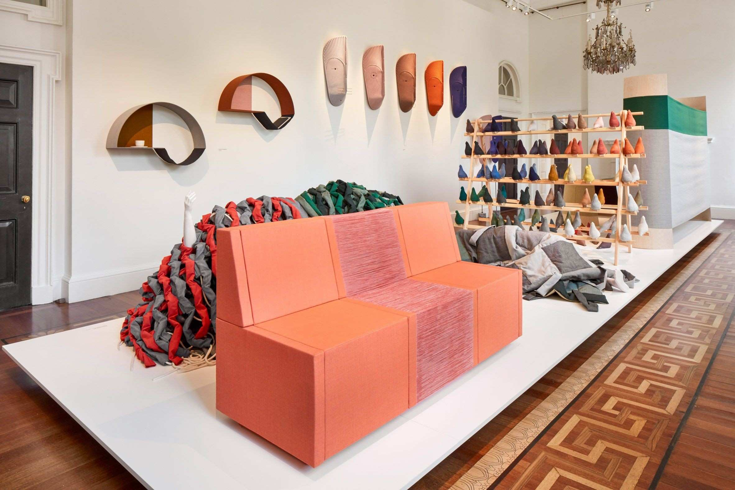 """Kvadrat has invited 19 designers to """"rethink the use"""" of its popular"""