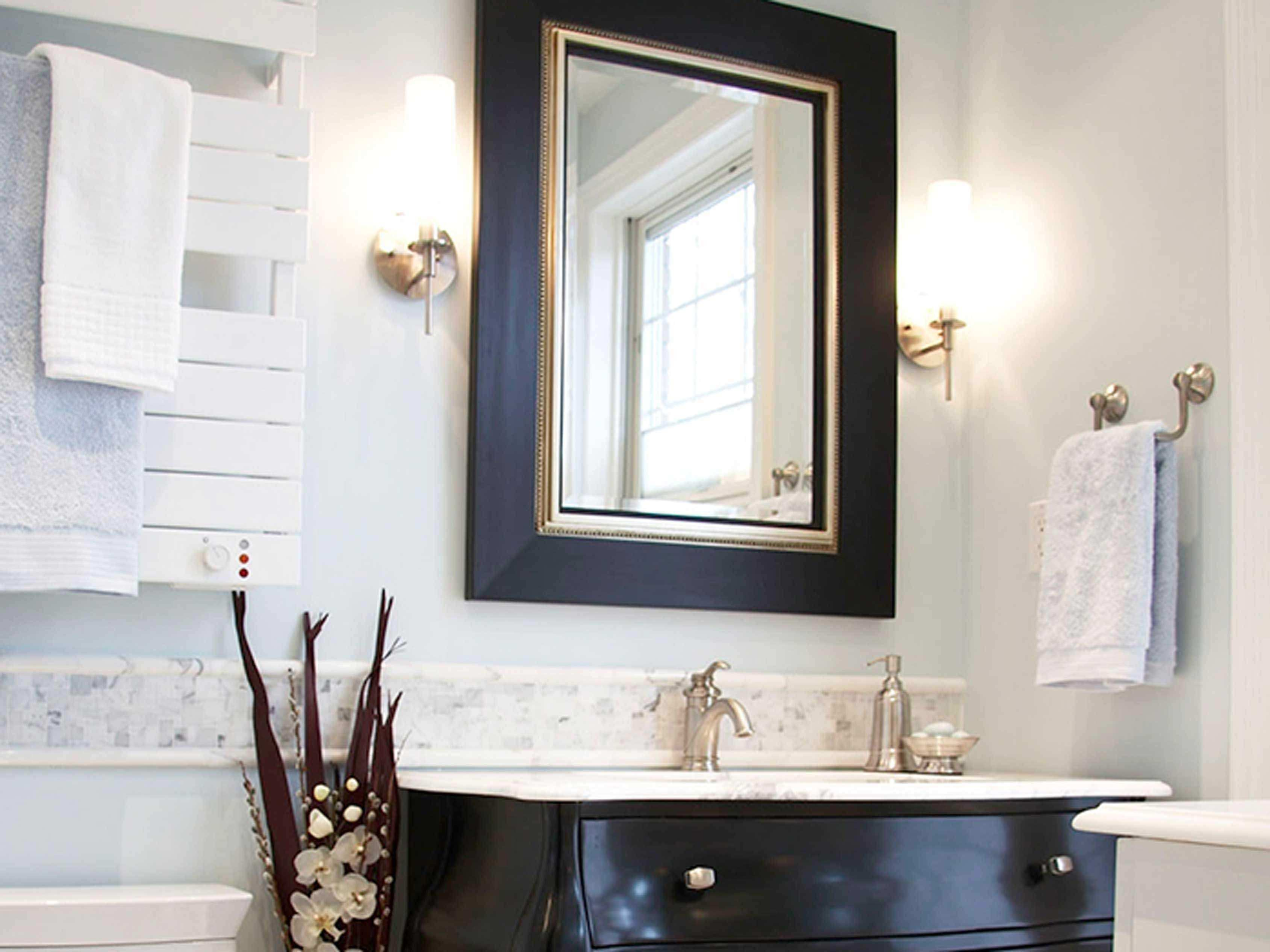 Bathroom Vanity Wall Mirrors With Regard To Small Mirror Best Choice