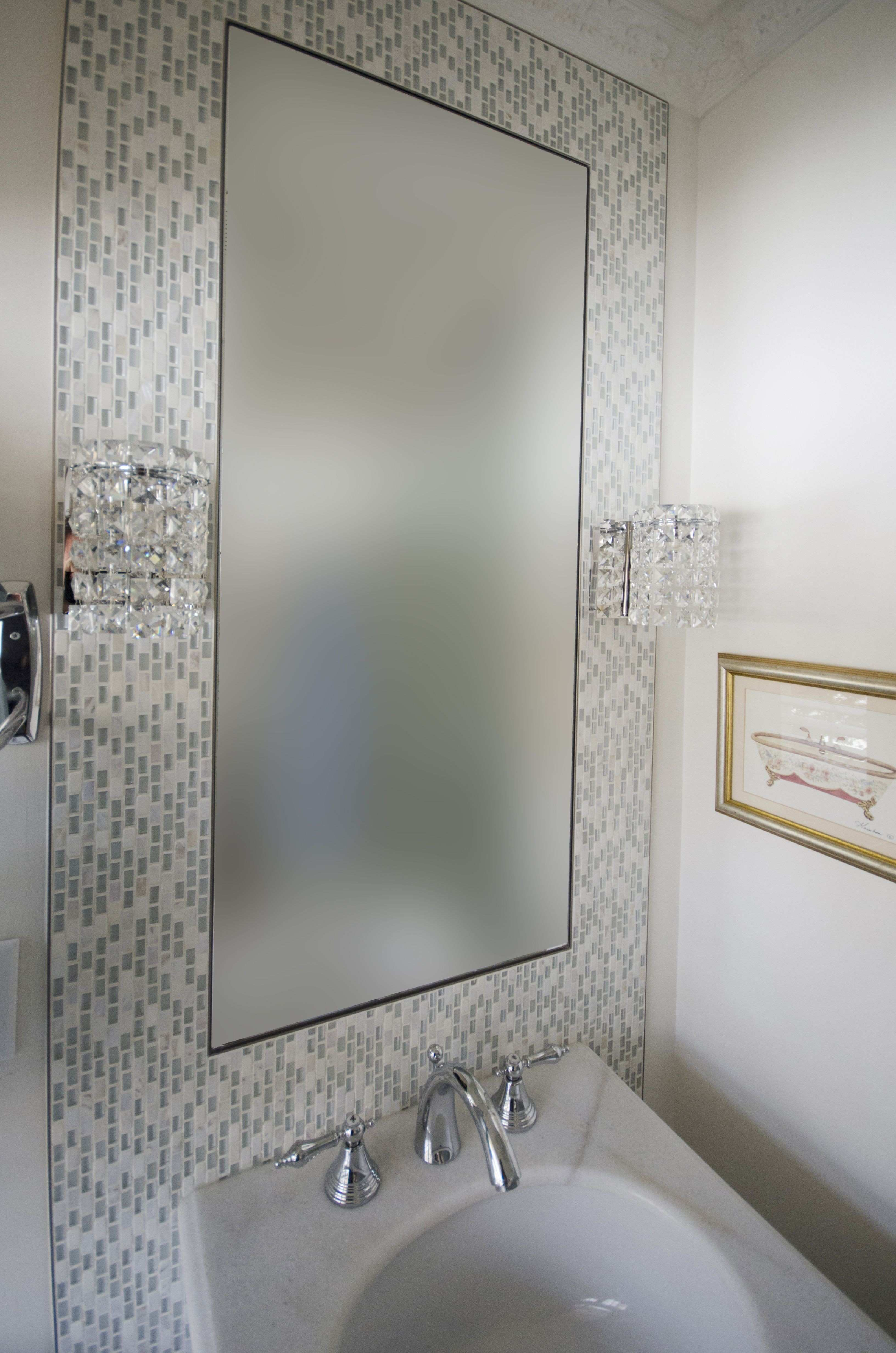 15 Best Bathroom Mirror Mosaic Frame Bathroom Mirror