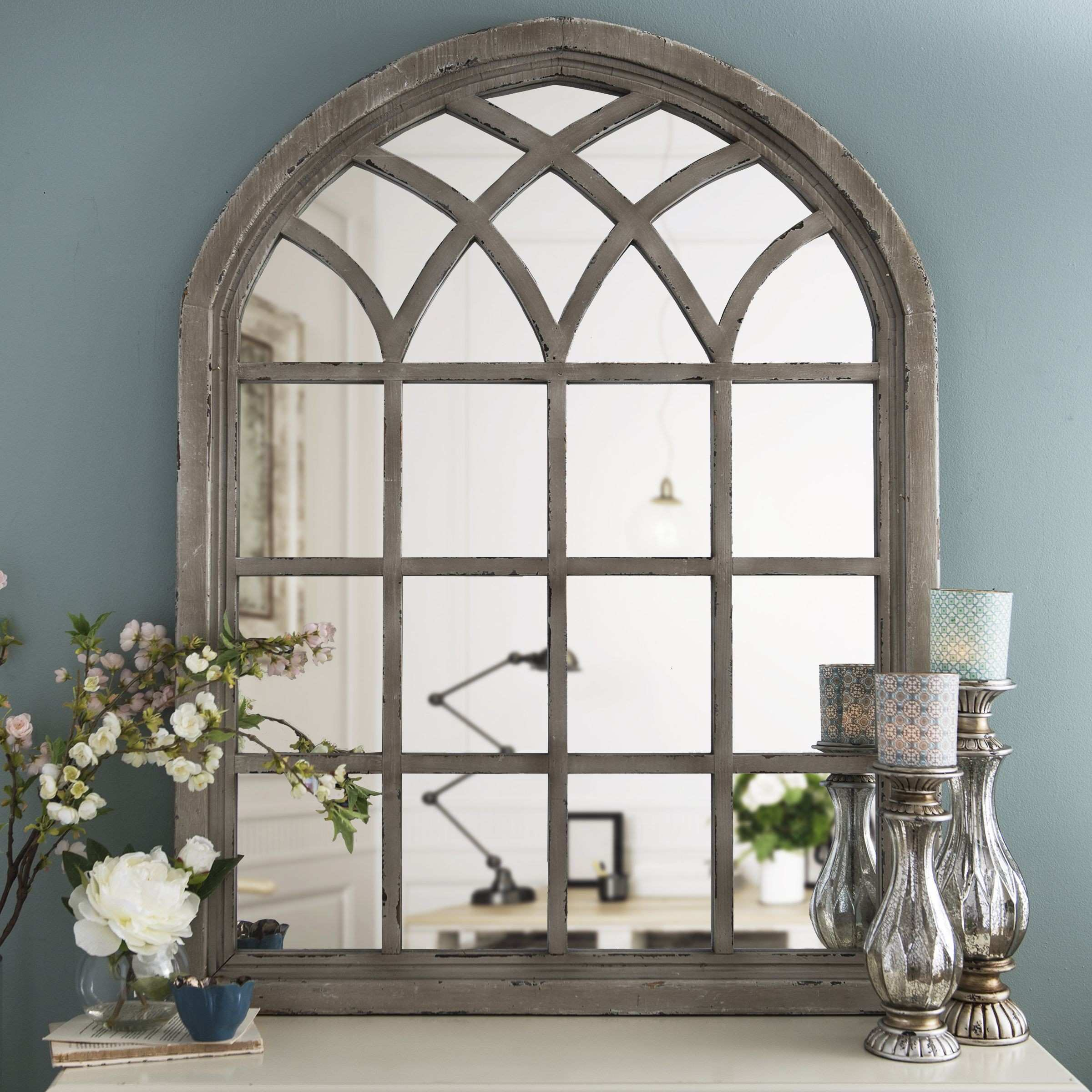Arched Picture Frame Fresh Our Window Inspired Iron Mirror Features
