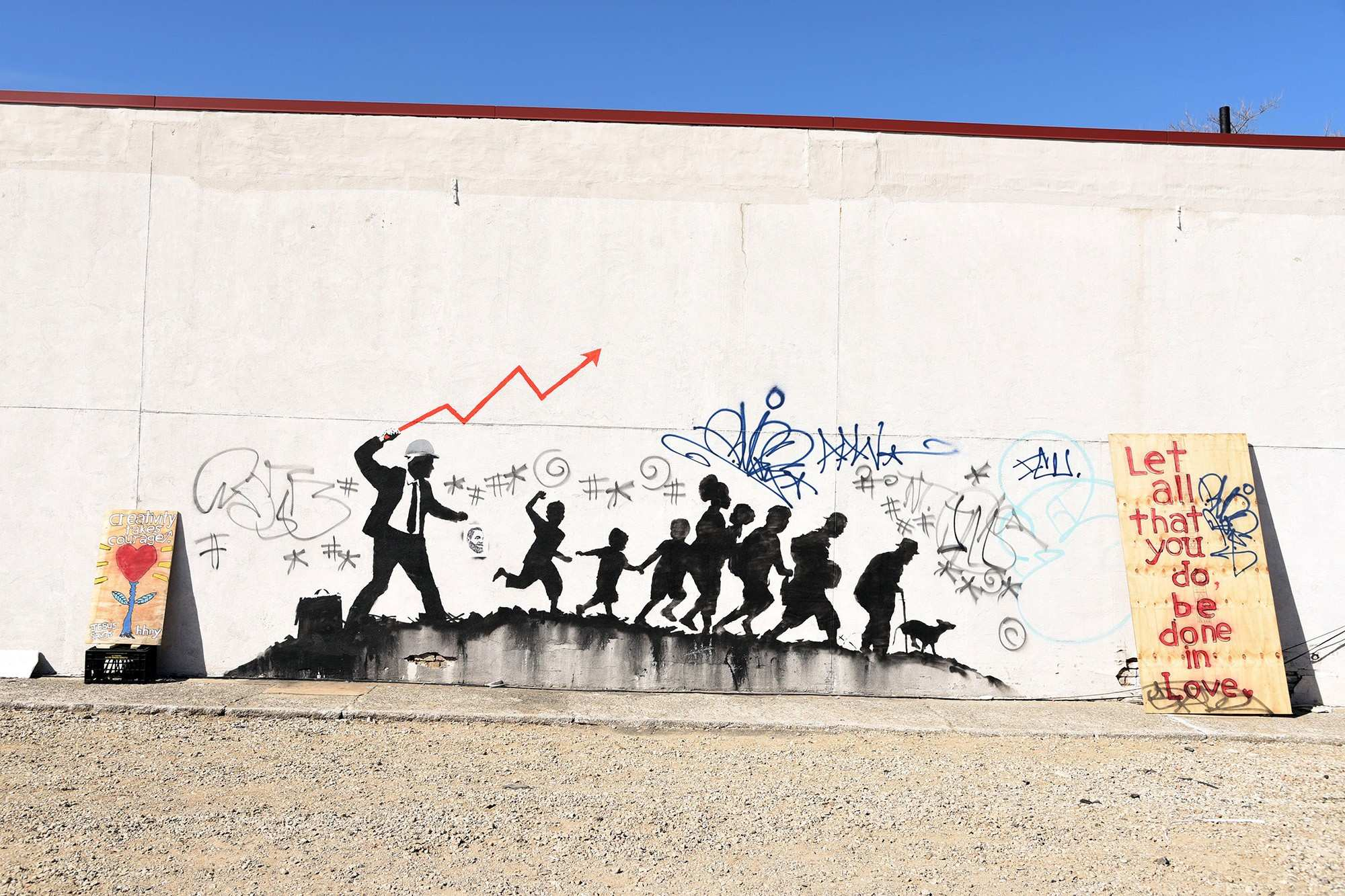 Building owners are making a fortune from Banksy s art