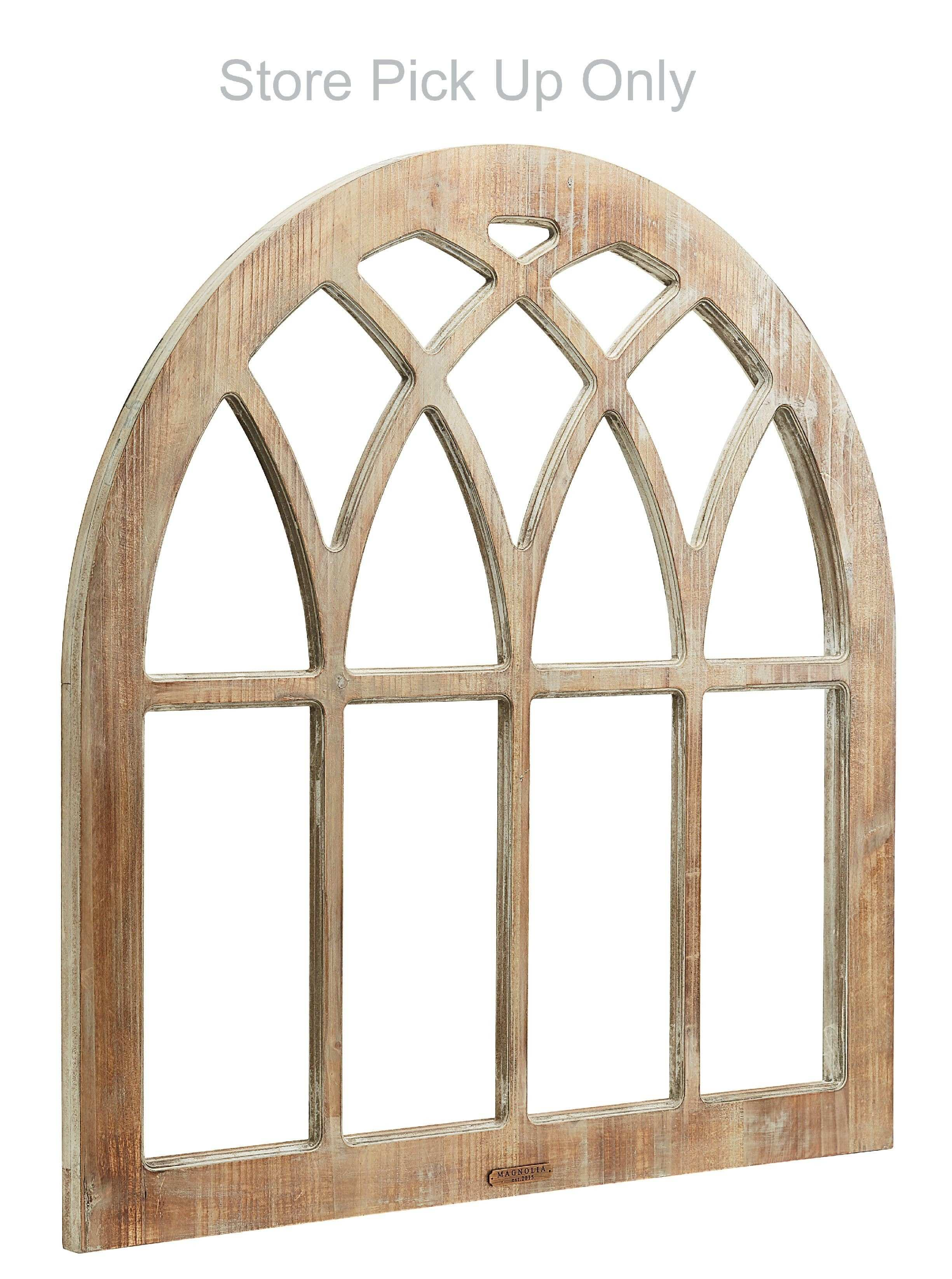 Magnolia Home Cathedral Window Frame Wall Décor ST