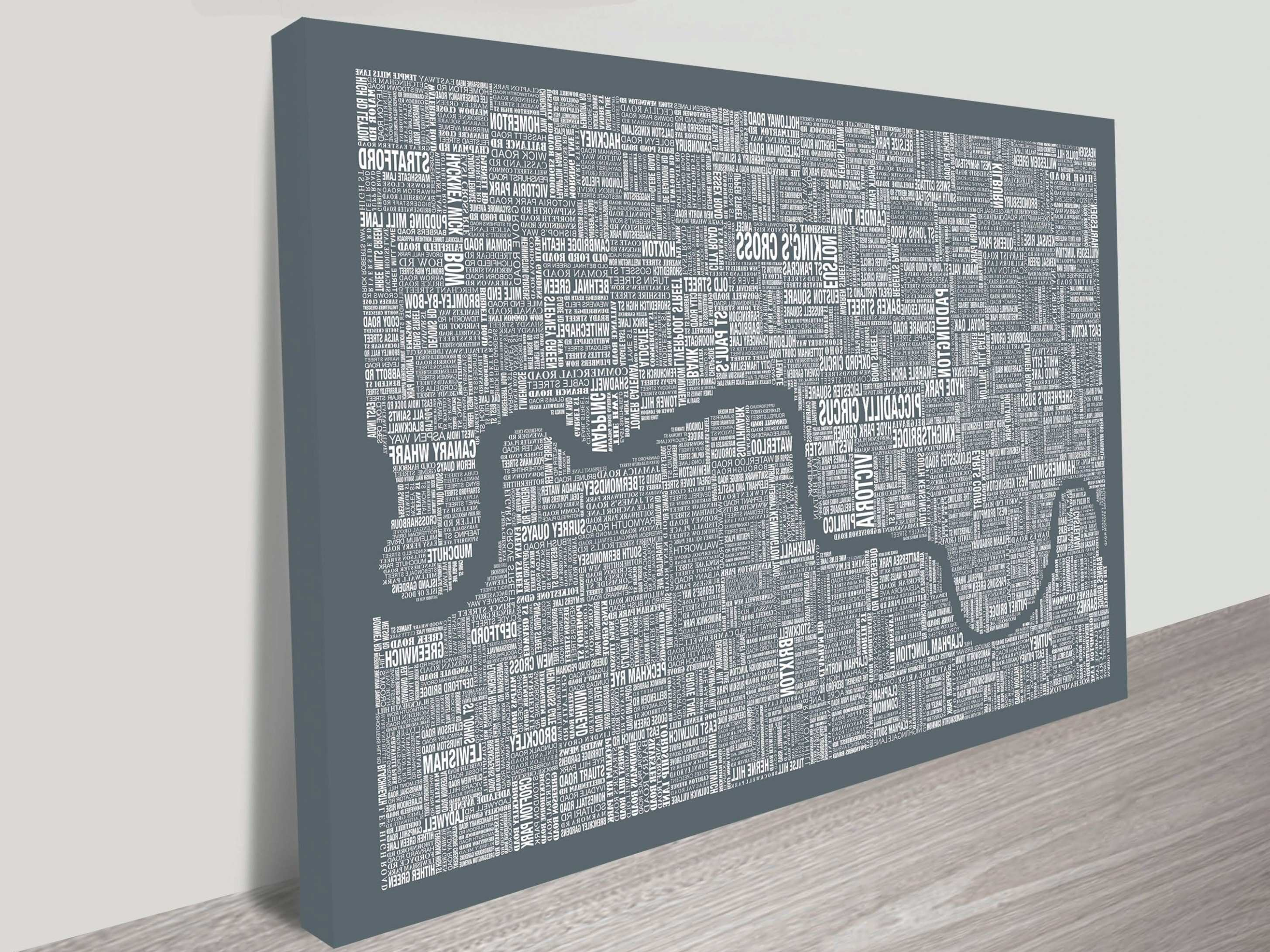 45 of Tube Map Wall Art