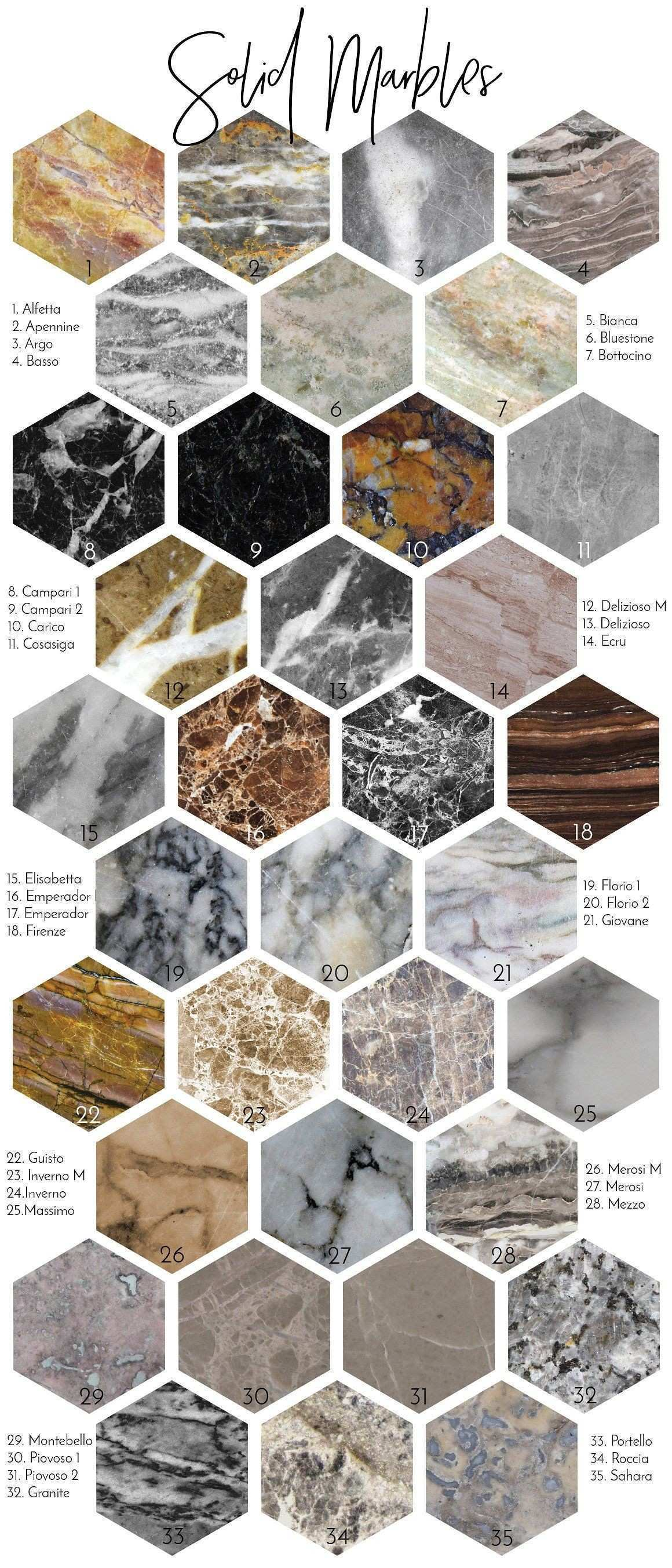 Real Marble Backgrounds & Styles Pinterest