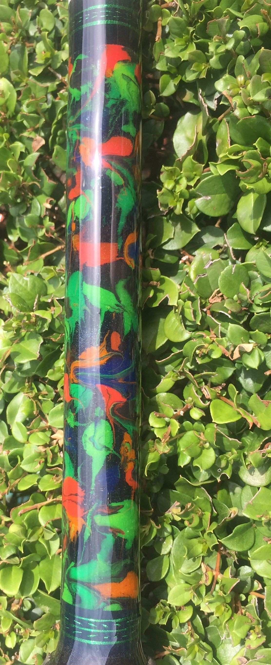 Marbling done by Sue of GT custom Rods
