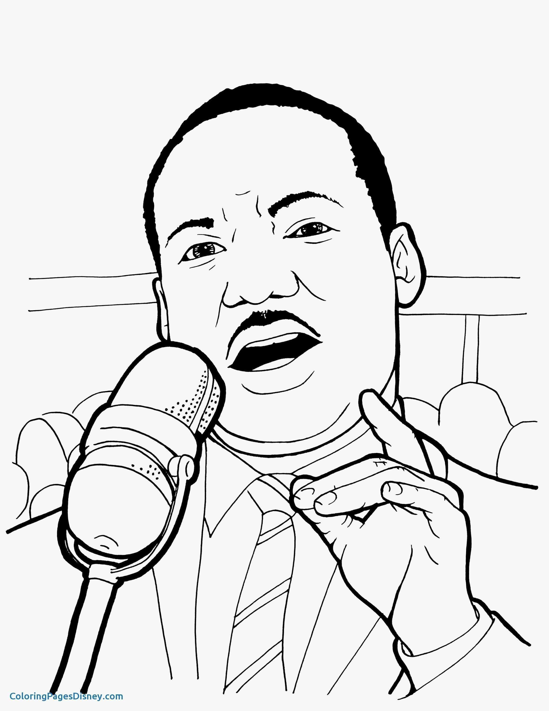 Unique Martin Luther King Jr Coloring Pages Coloring Pages