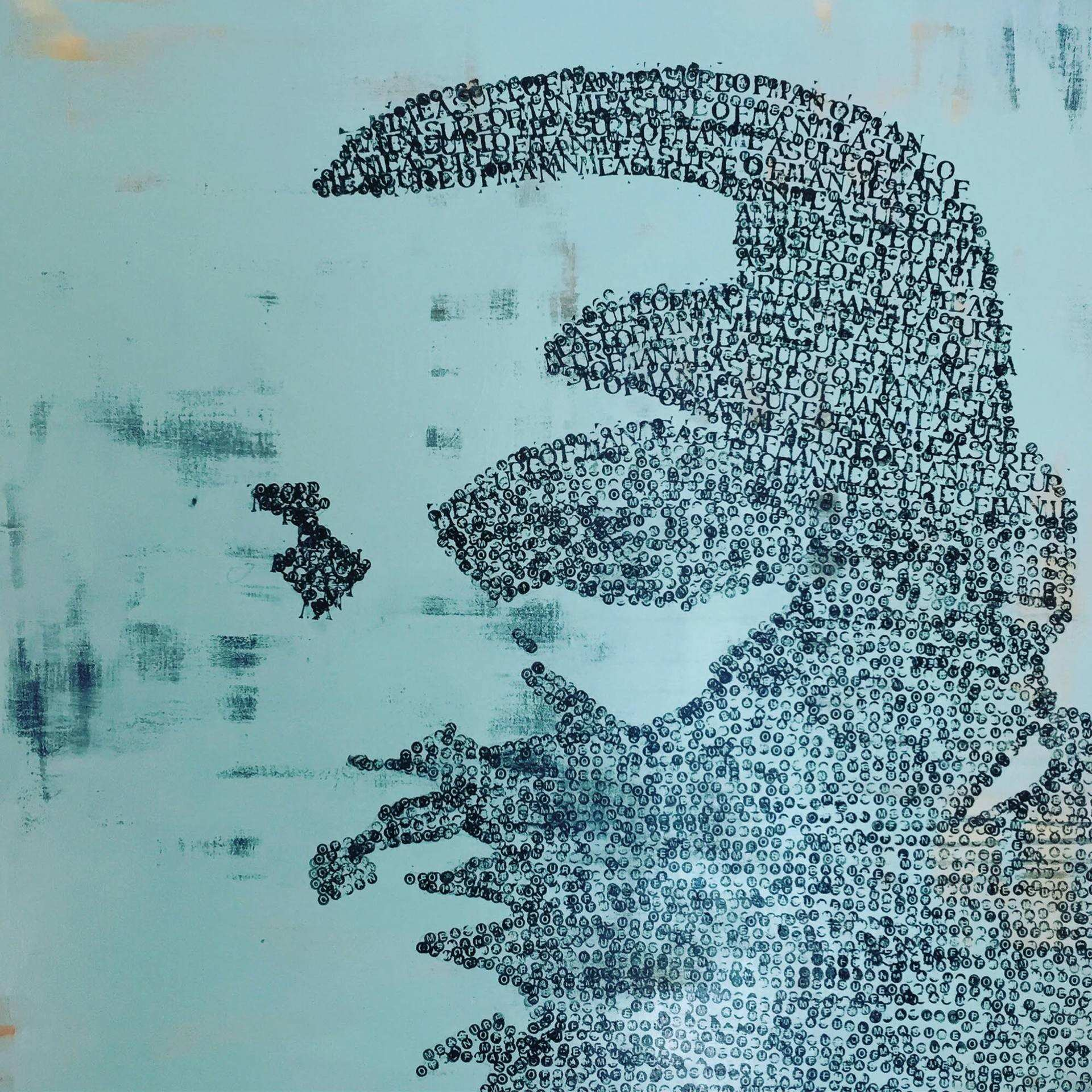 Saatchi Art Martin Luther King Jr Man of Measure Painting by