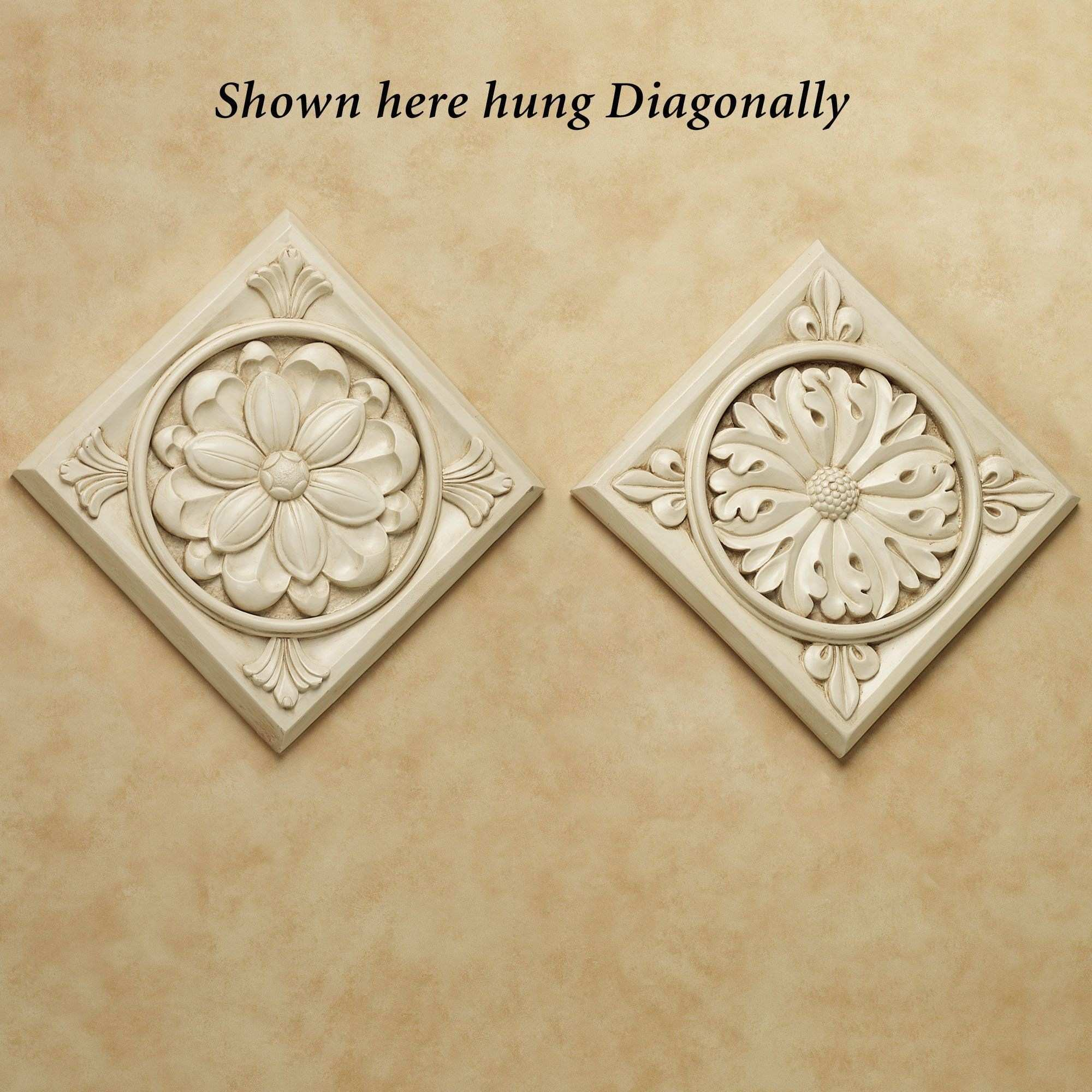 Lockhart Medallion Wall Plaque Set half bath Pinterest