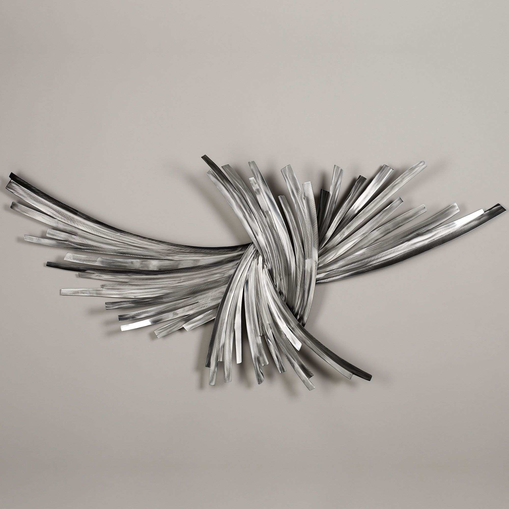 Infinity Silver Metal Wall Sculpture Pinterest