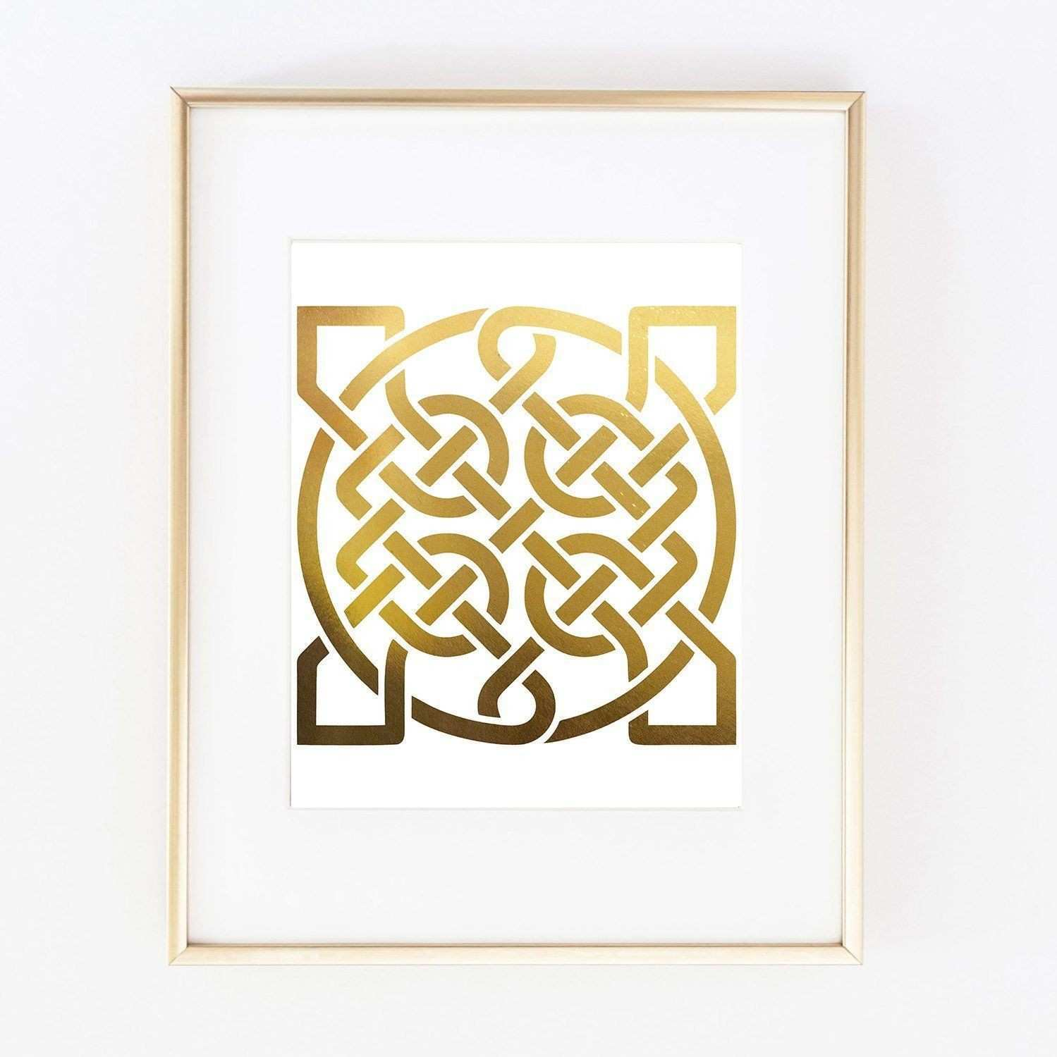 Beautiful Metal Celtic Knot Wall Art | Wall Art Ideas