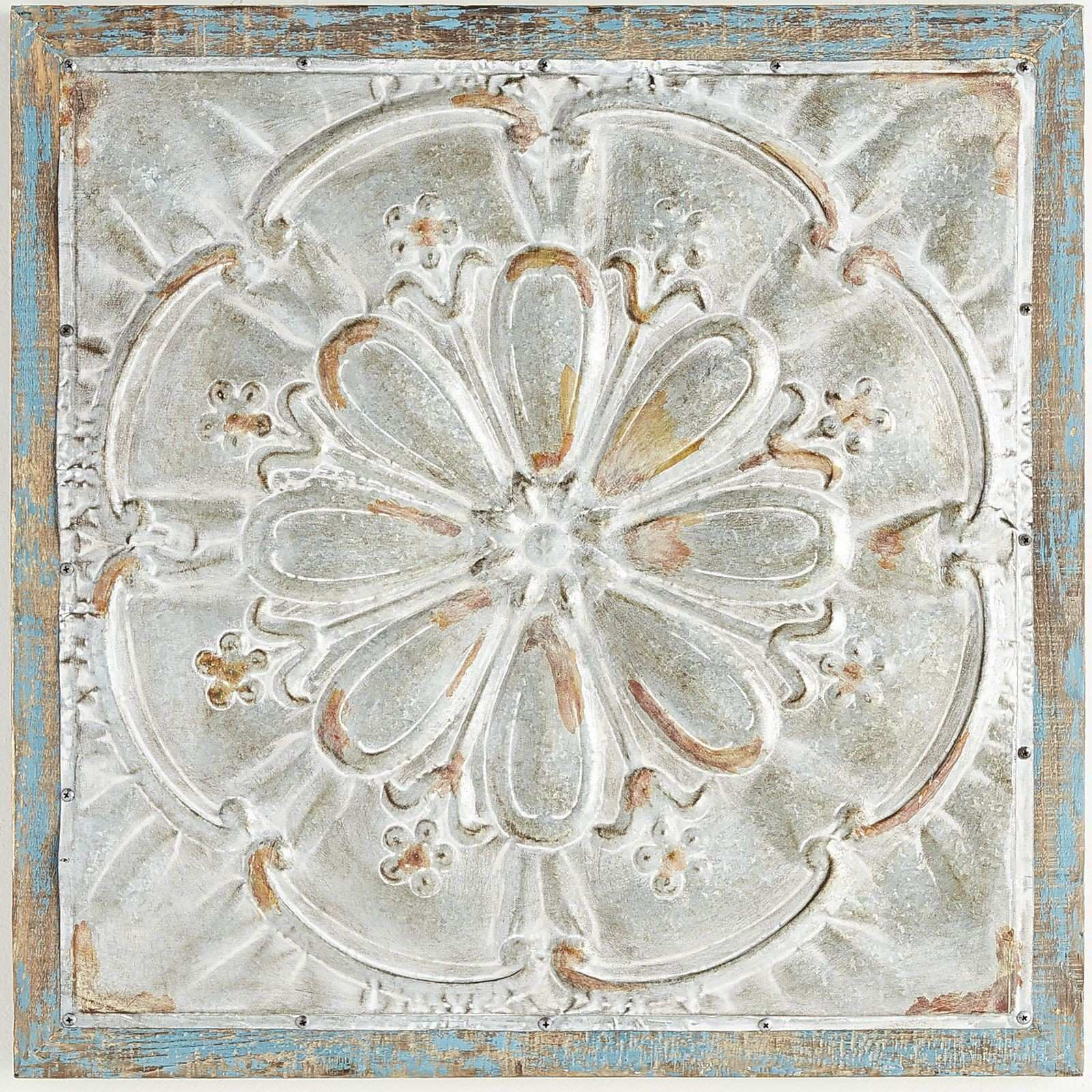 We ve taken the look of a Victorian tin ceiling tile and embellished